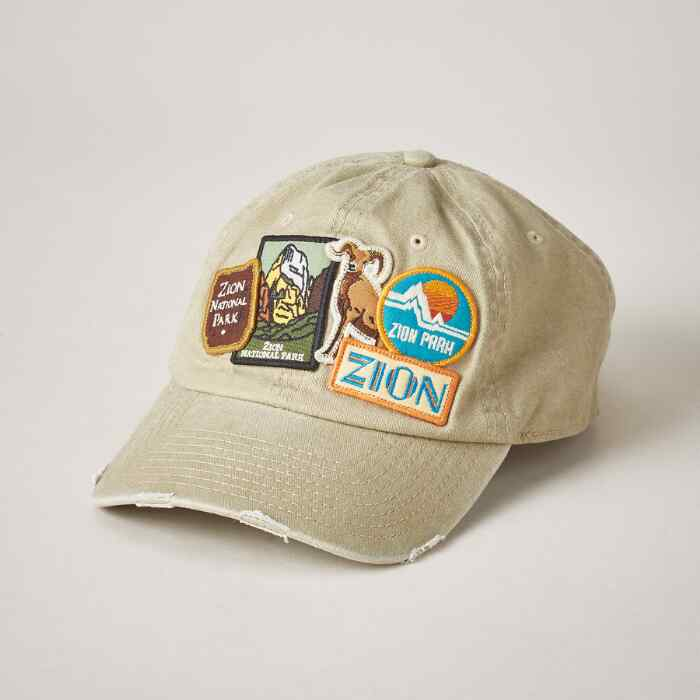 PARK PATCH BASEBALL CAP