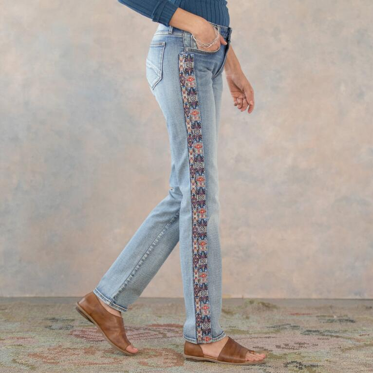 AUDREY CHANDLER STRAIGHT JEANS