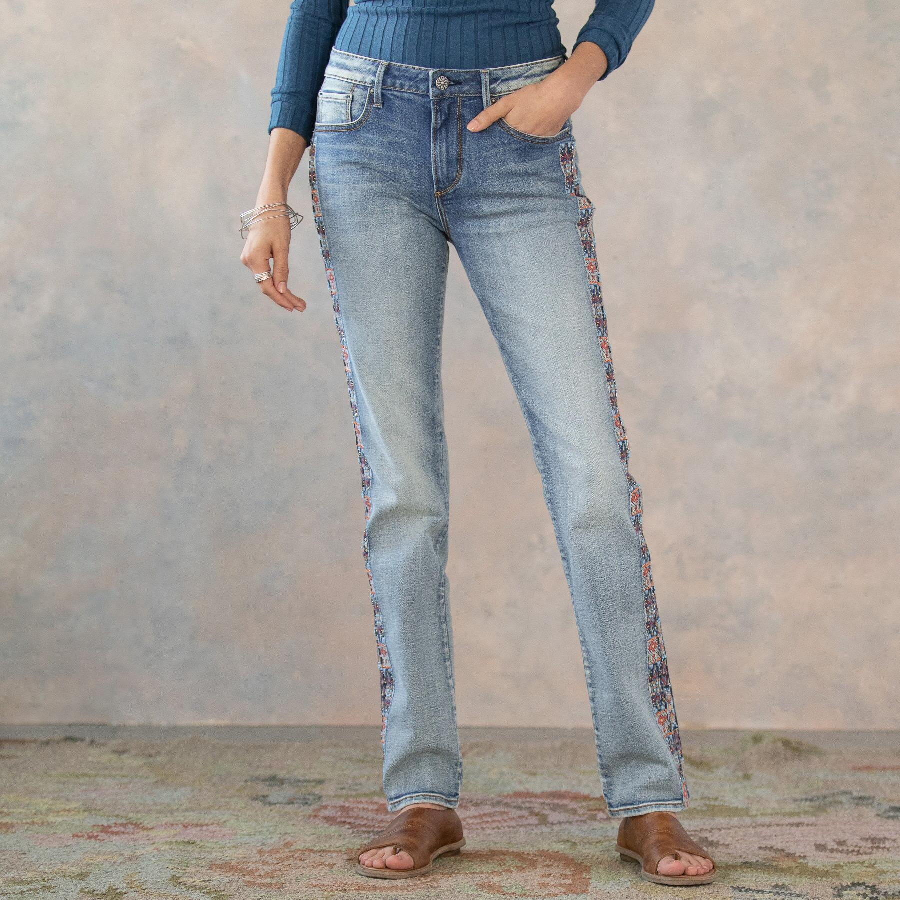 AUDREY CHANDLER STRAIGHT JEANS: View 2