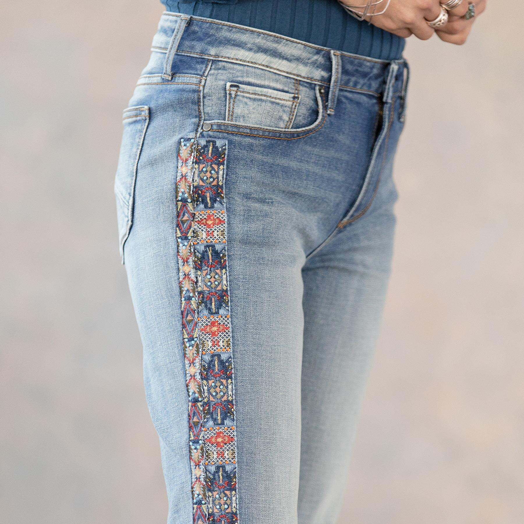 AUDREY CHANDLER STRAIGHT JEANS: View 4