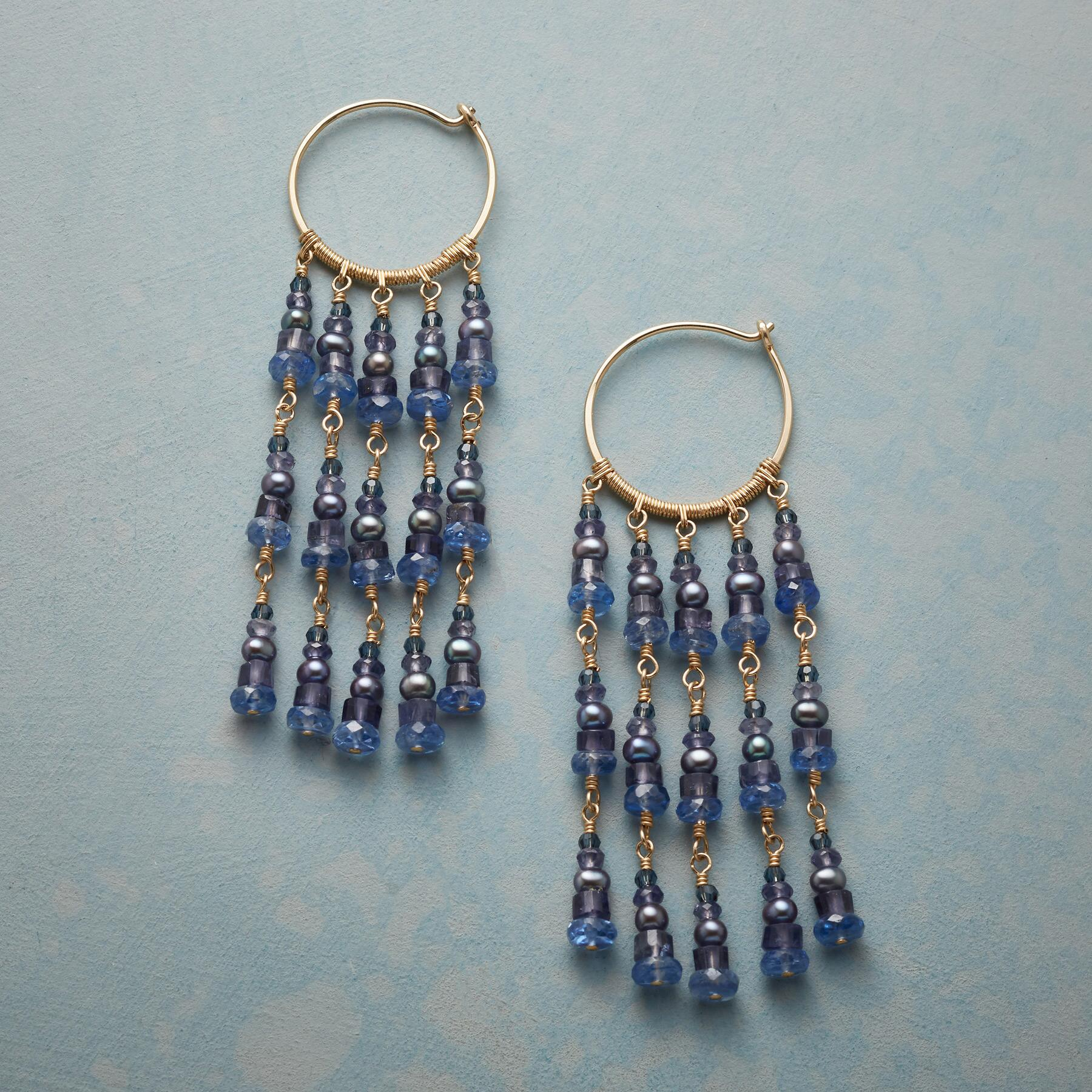 WAILUA HOOP EARRINGS: View 1