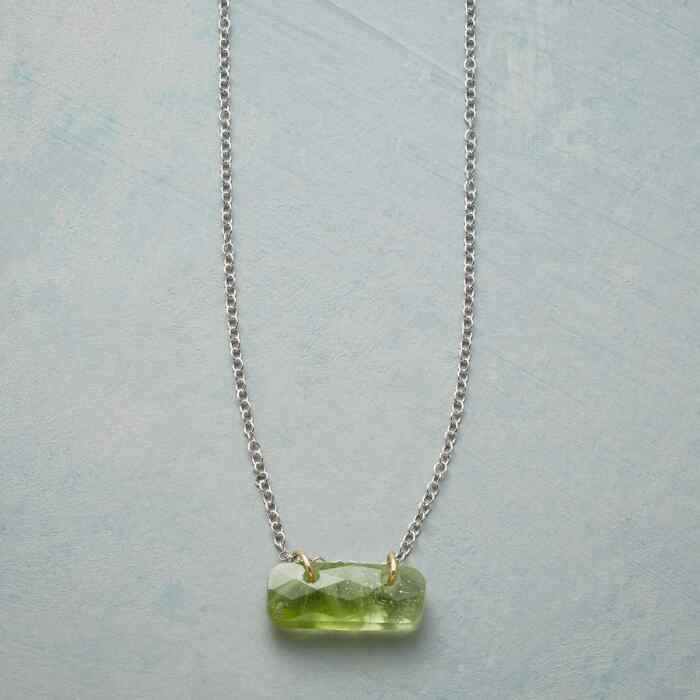 BIRTHSTONE TILE NECKLACE
