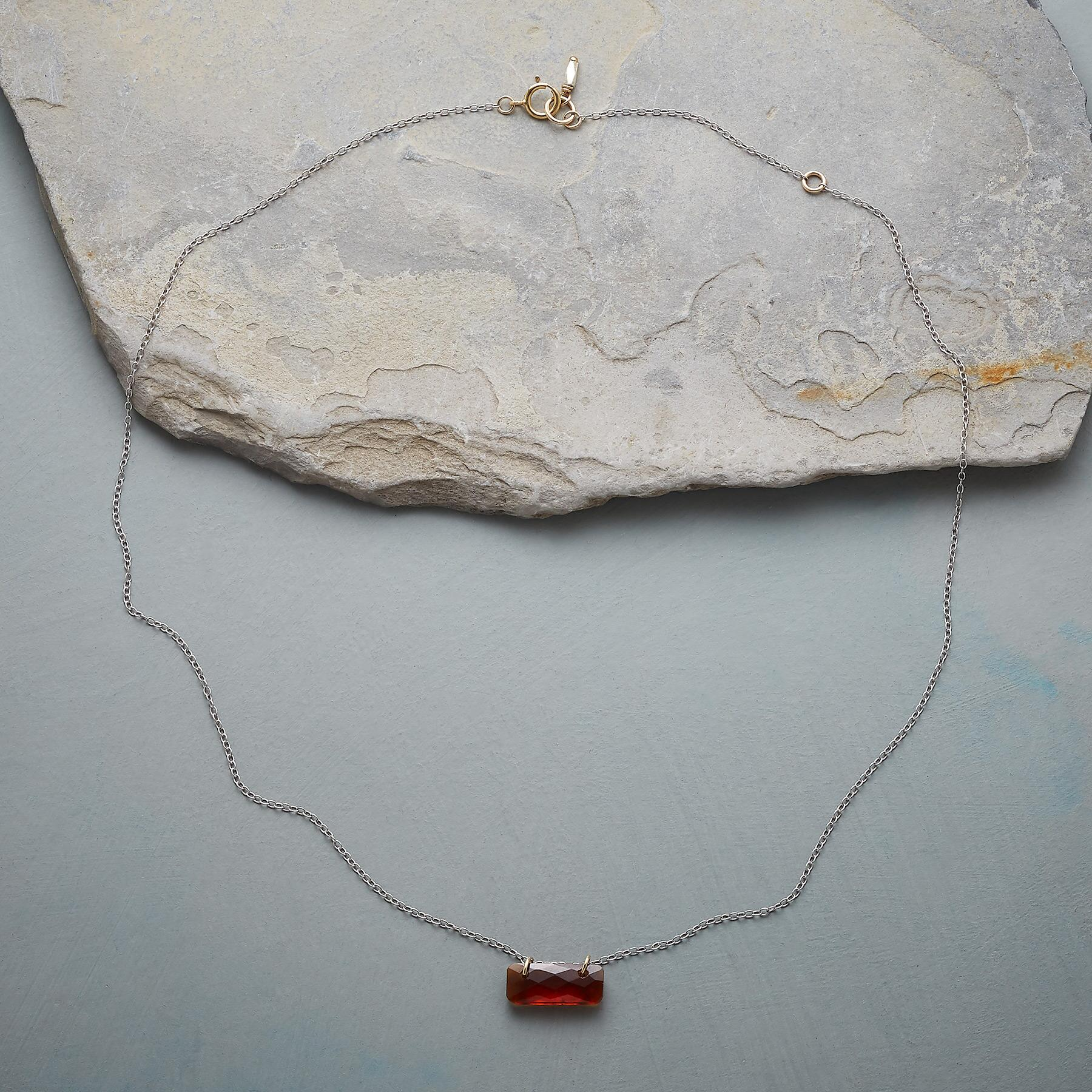 BIRTHSTONE TILE NECKLACE: View 2
