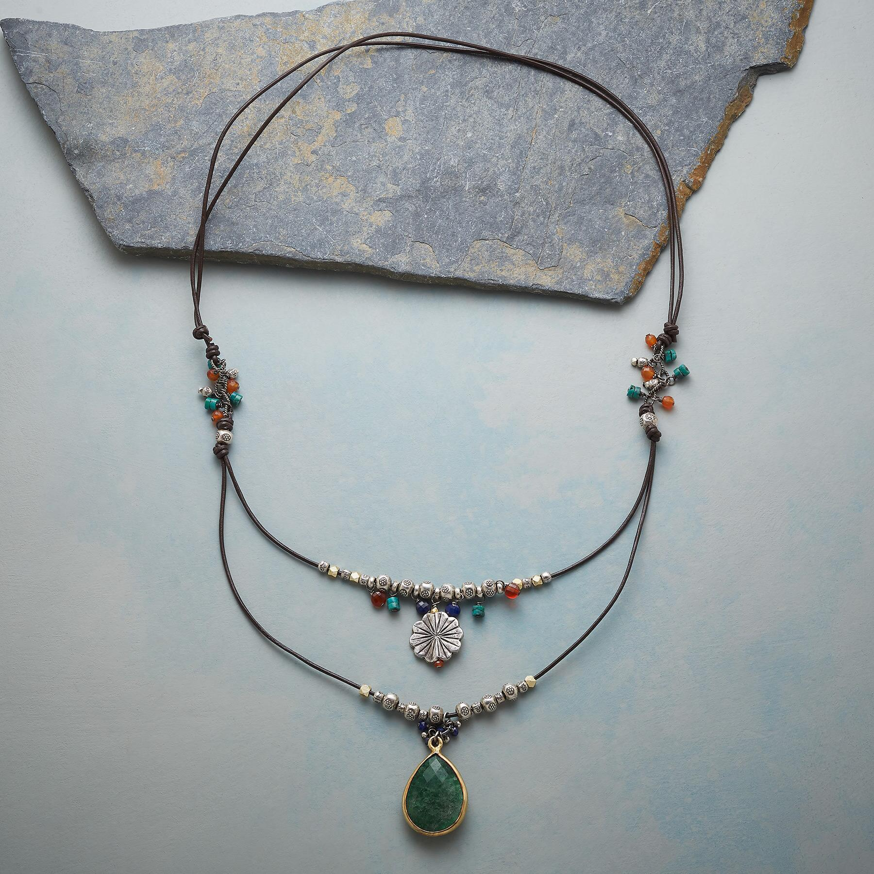 LONG LAYERED NECKLACE: View 2