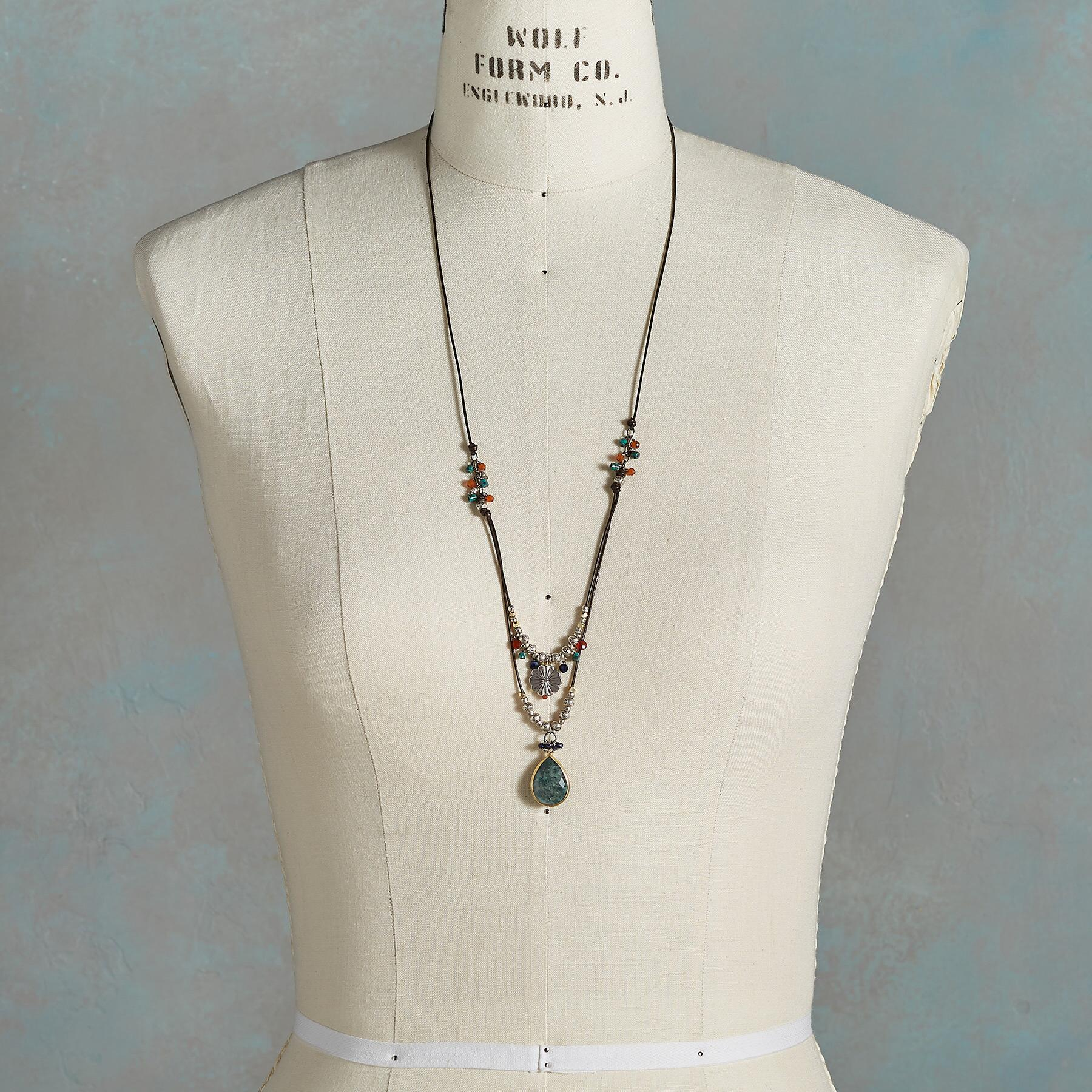 LONG LAYERED NECKLACE: View 4