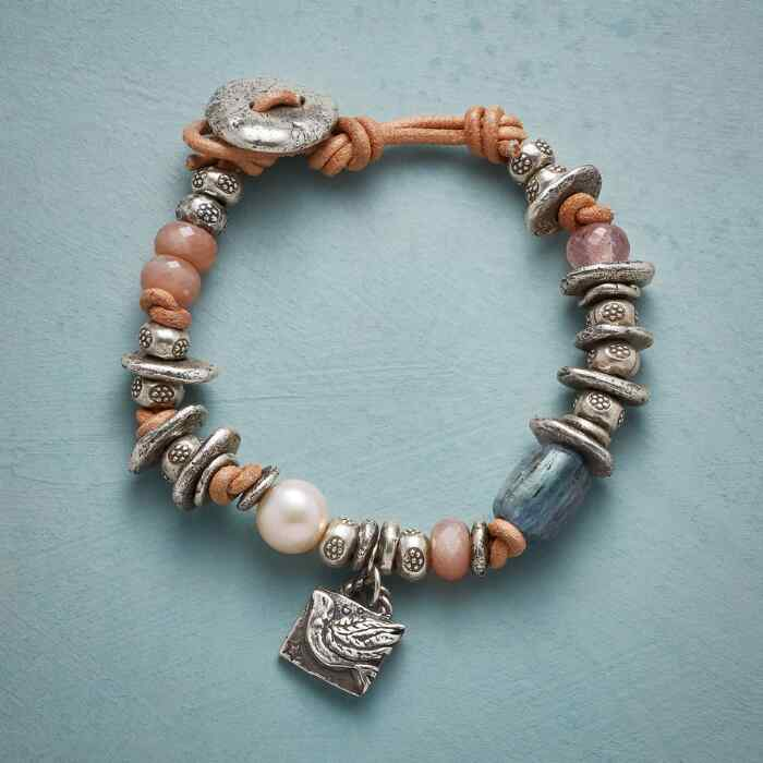BEAUTIFUL SOUL LEATHER BRACELET