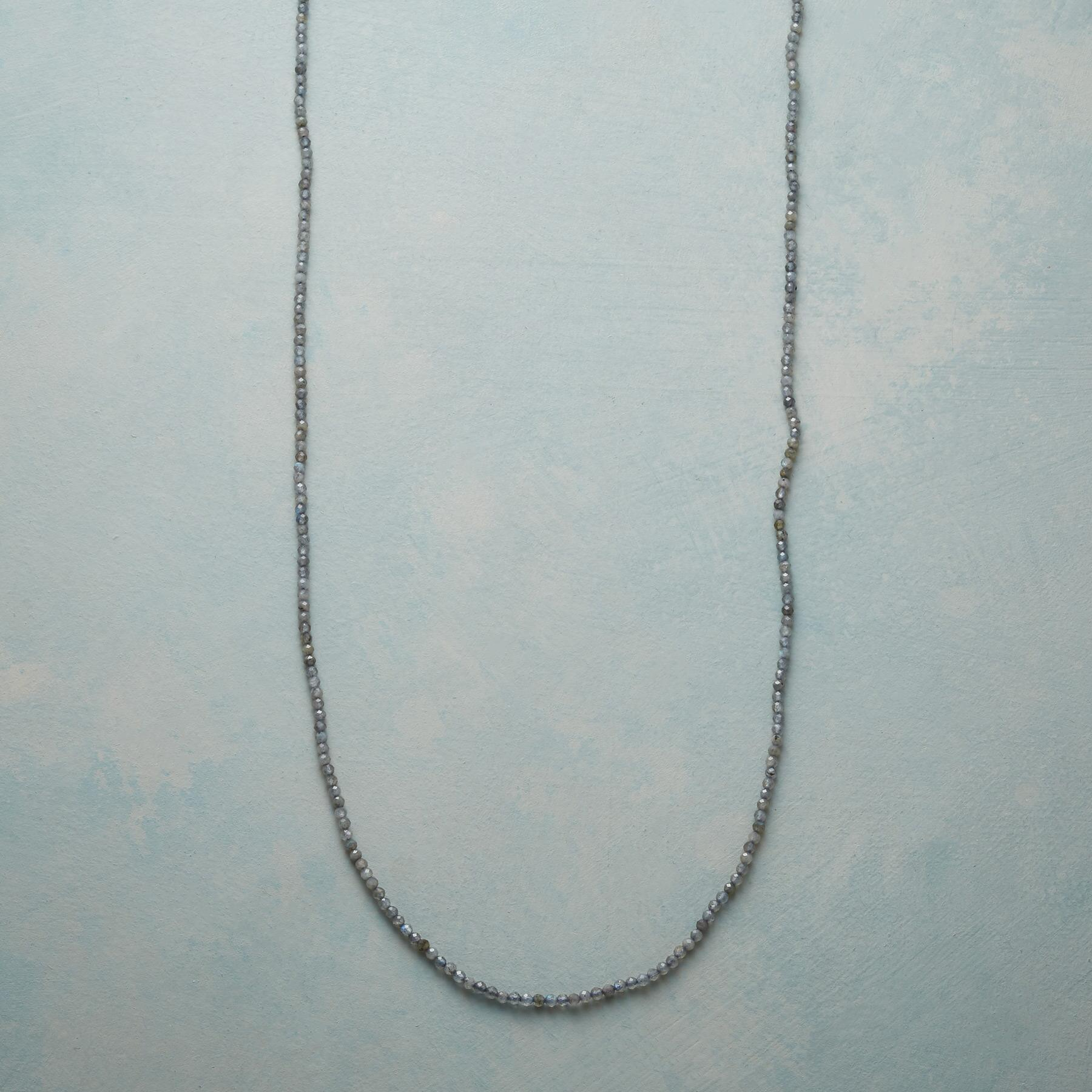LINKS AND LABRADORITE NECKLACE: View 1