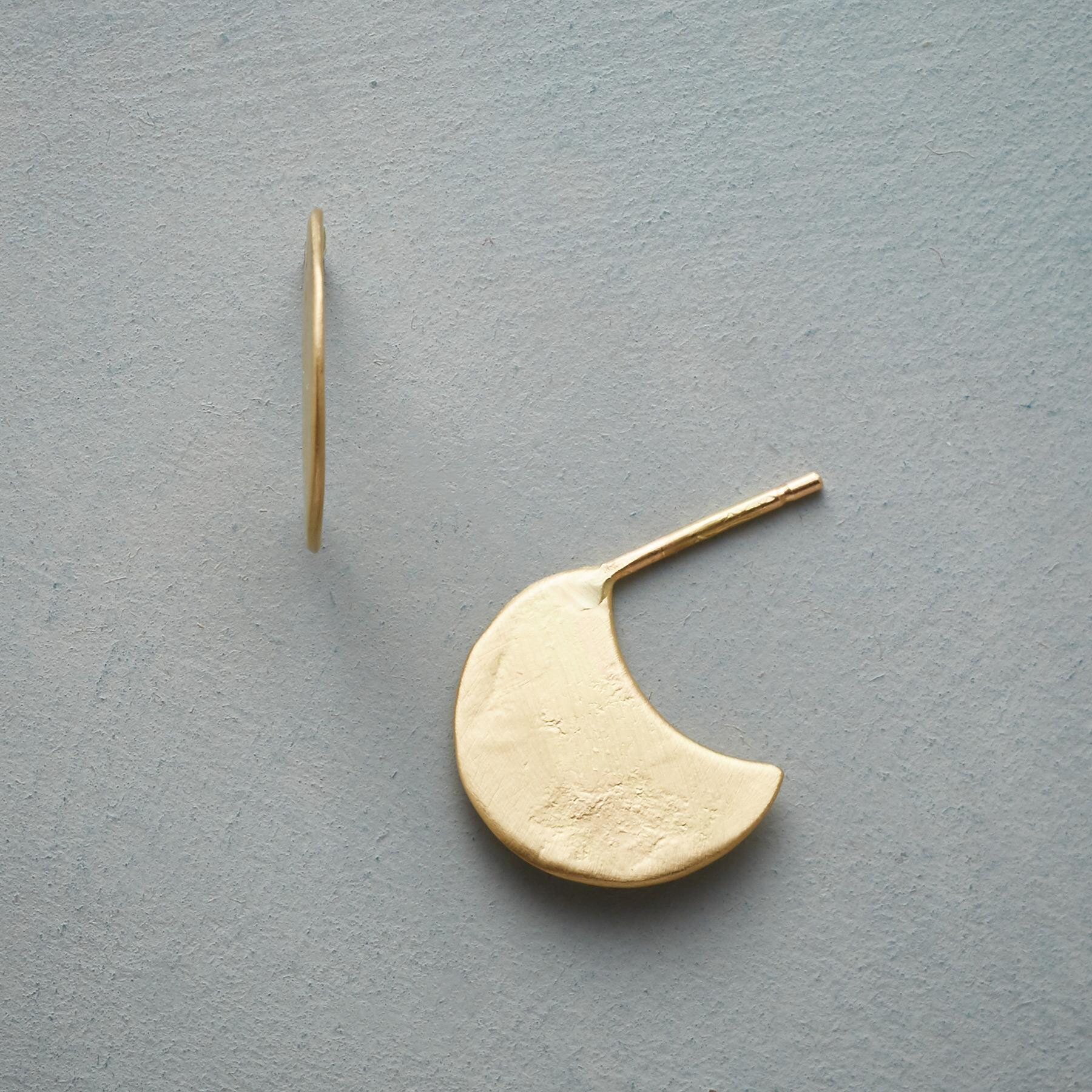 ANCIENT MOON EARRINGS: View 1