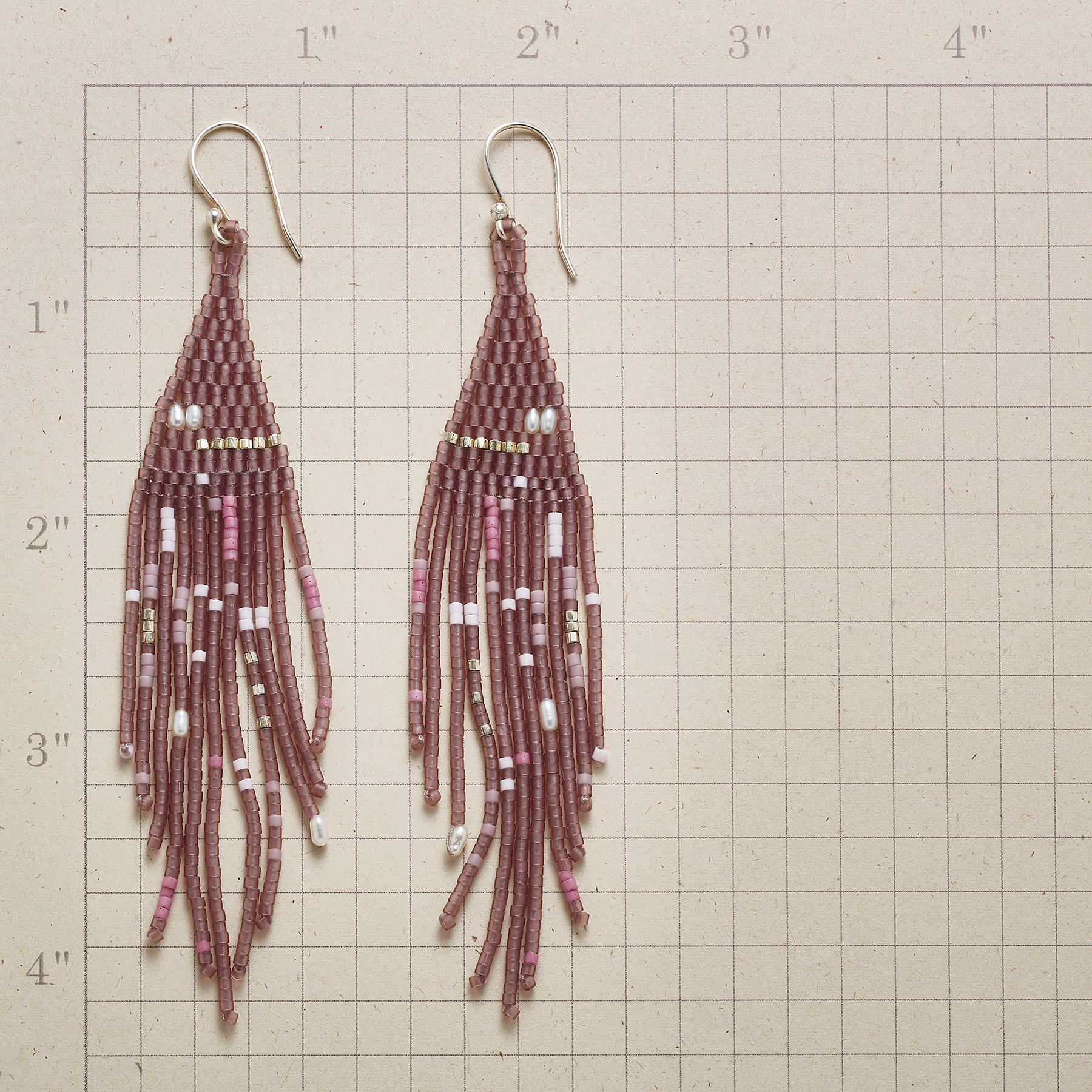 LILAC TIME EARRINGS: View 2