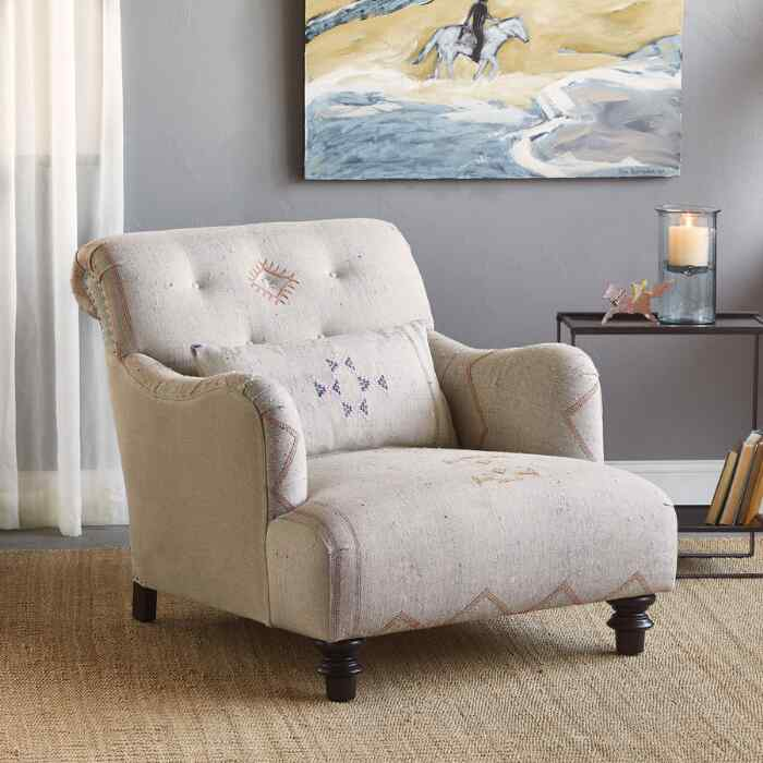 ZARA MOROCCAN CLUB CHAIR