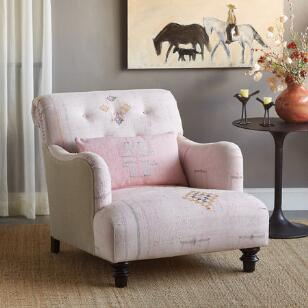 HASSAN MOROCCAN CLUB CHAIR