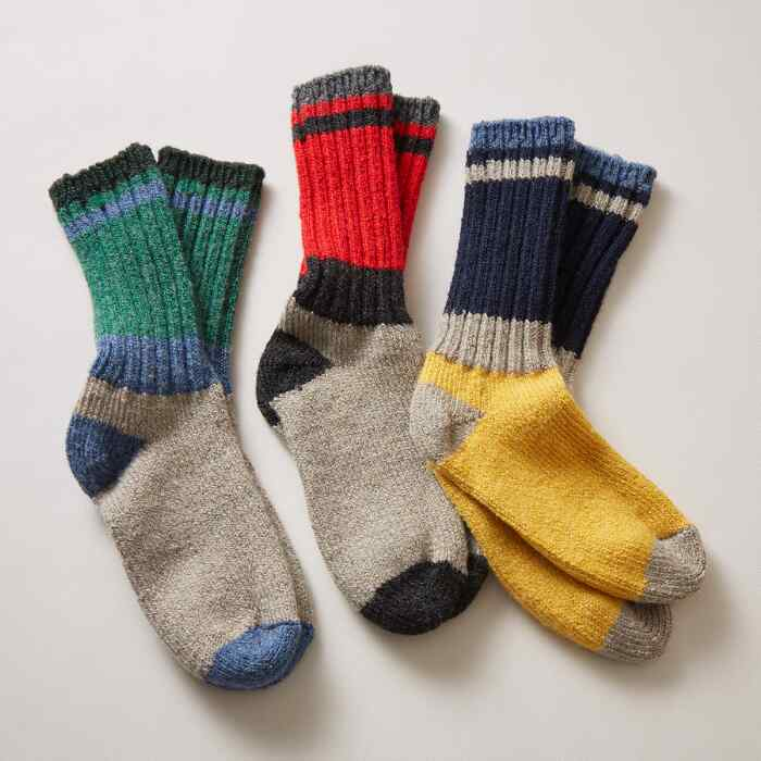 MOUNT HERMON SOCKS, SET OF 3