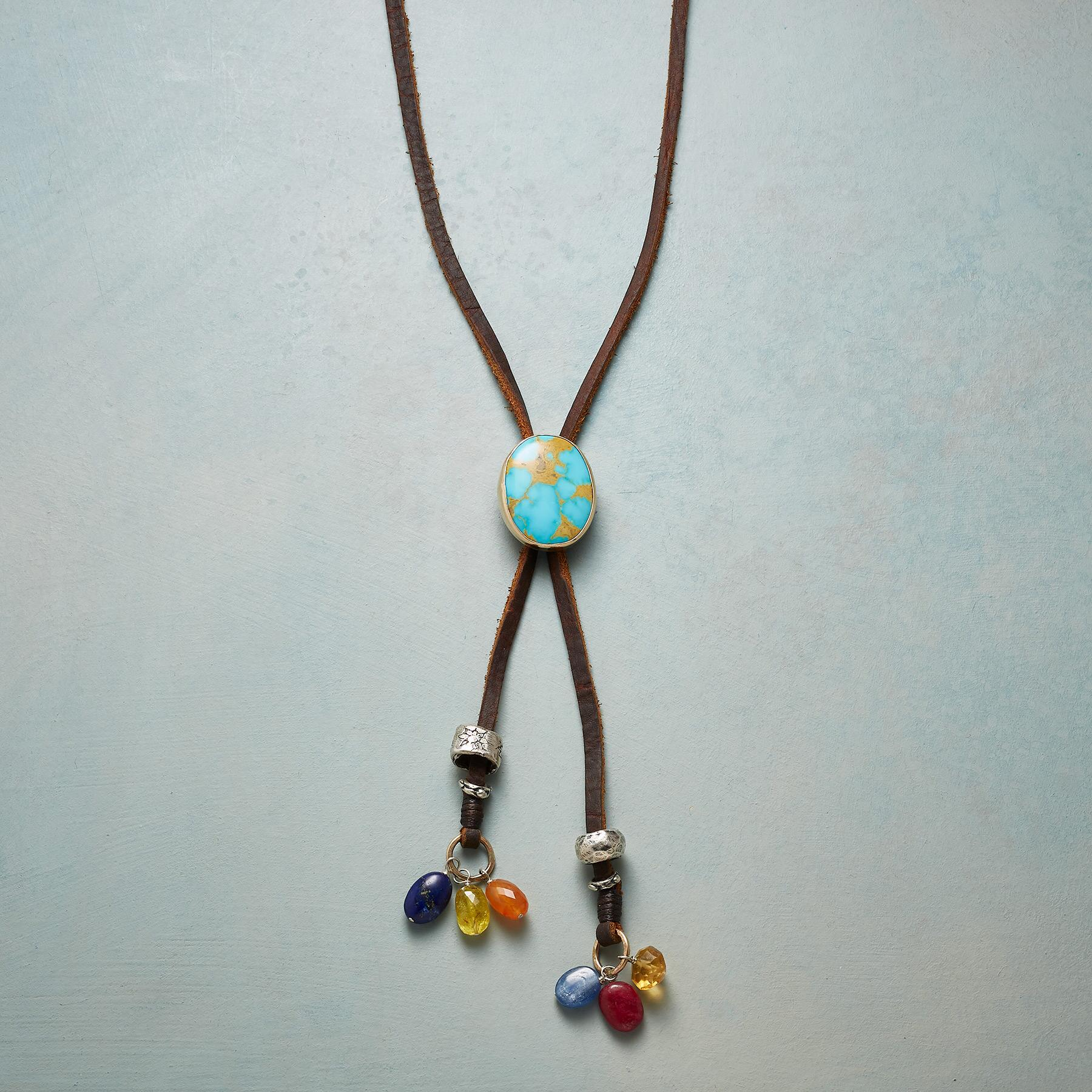 NEW WEST BOLO NECKLACE: View 1