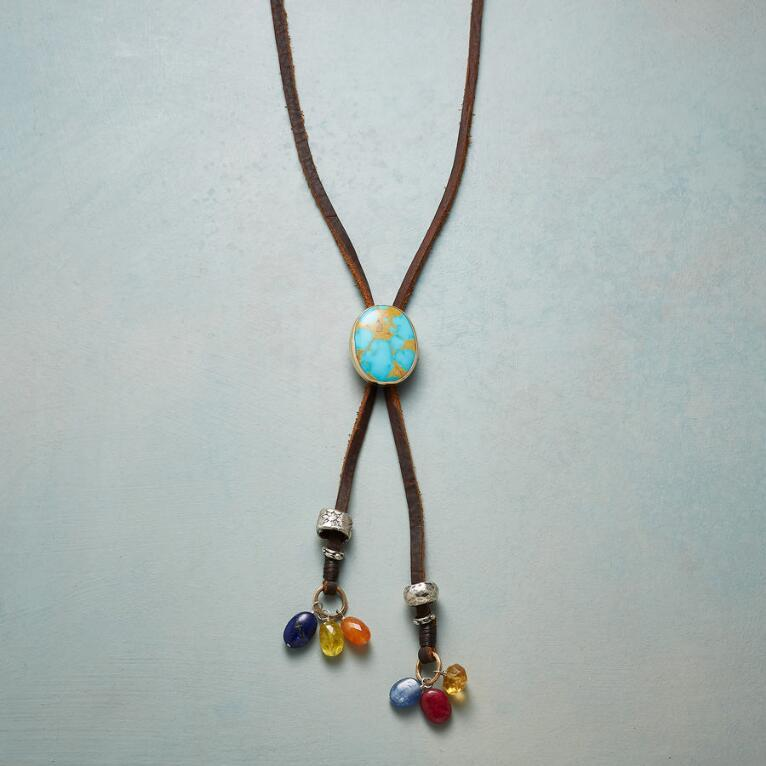 NEW WEST BOLO NECKLACE