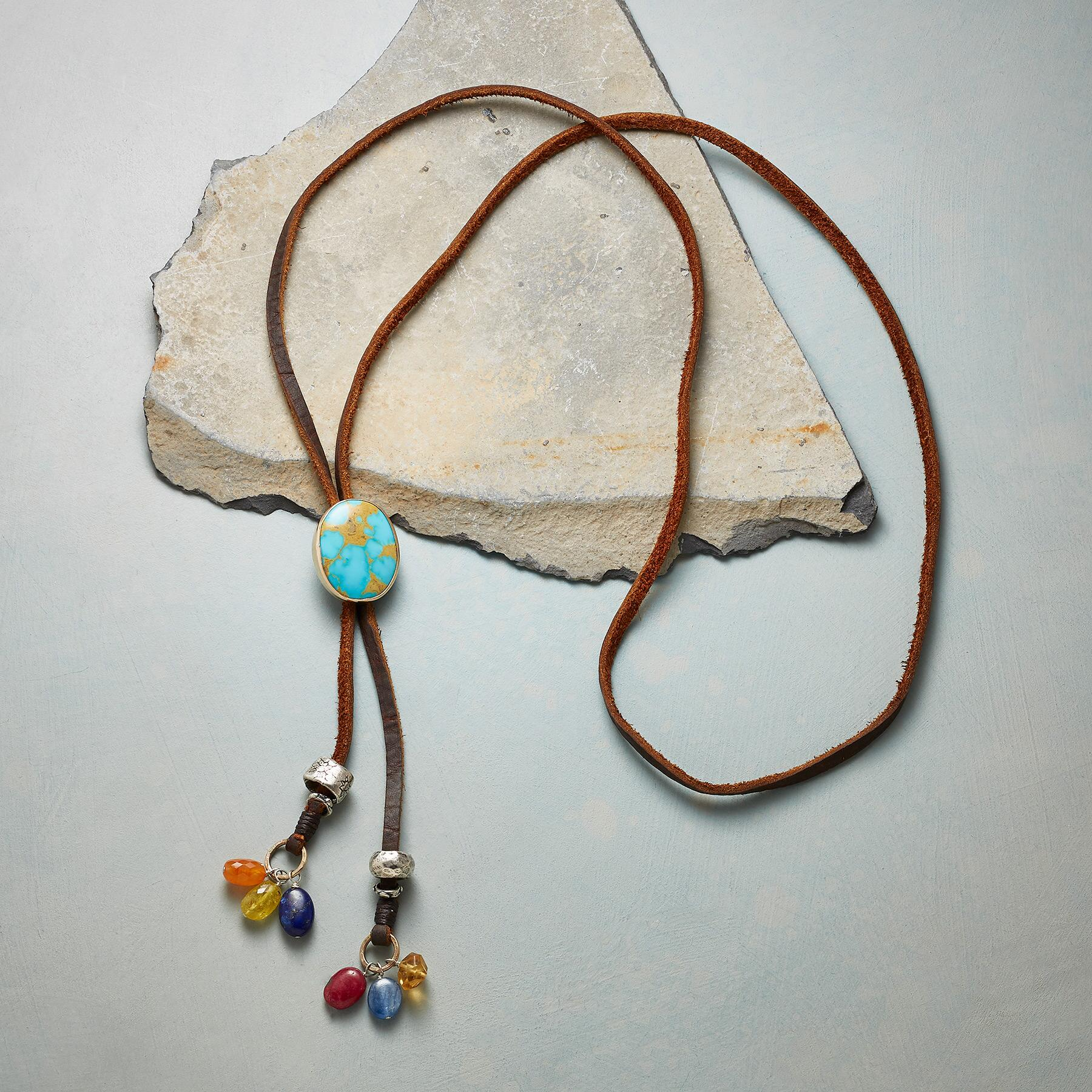 NEW WEST BOLO NECKLACE: View 2