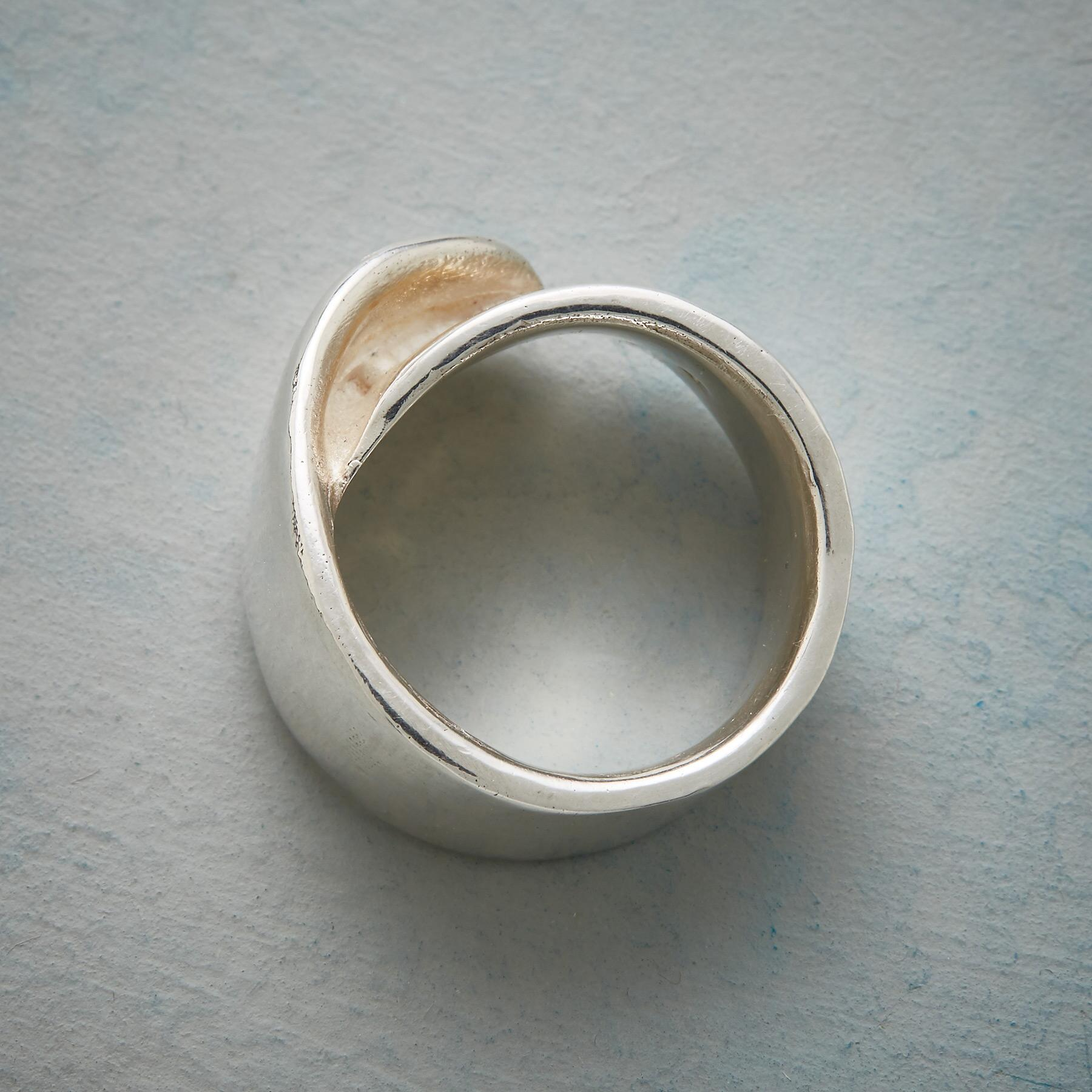 FOLDOVER RING: View 3