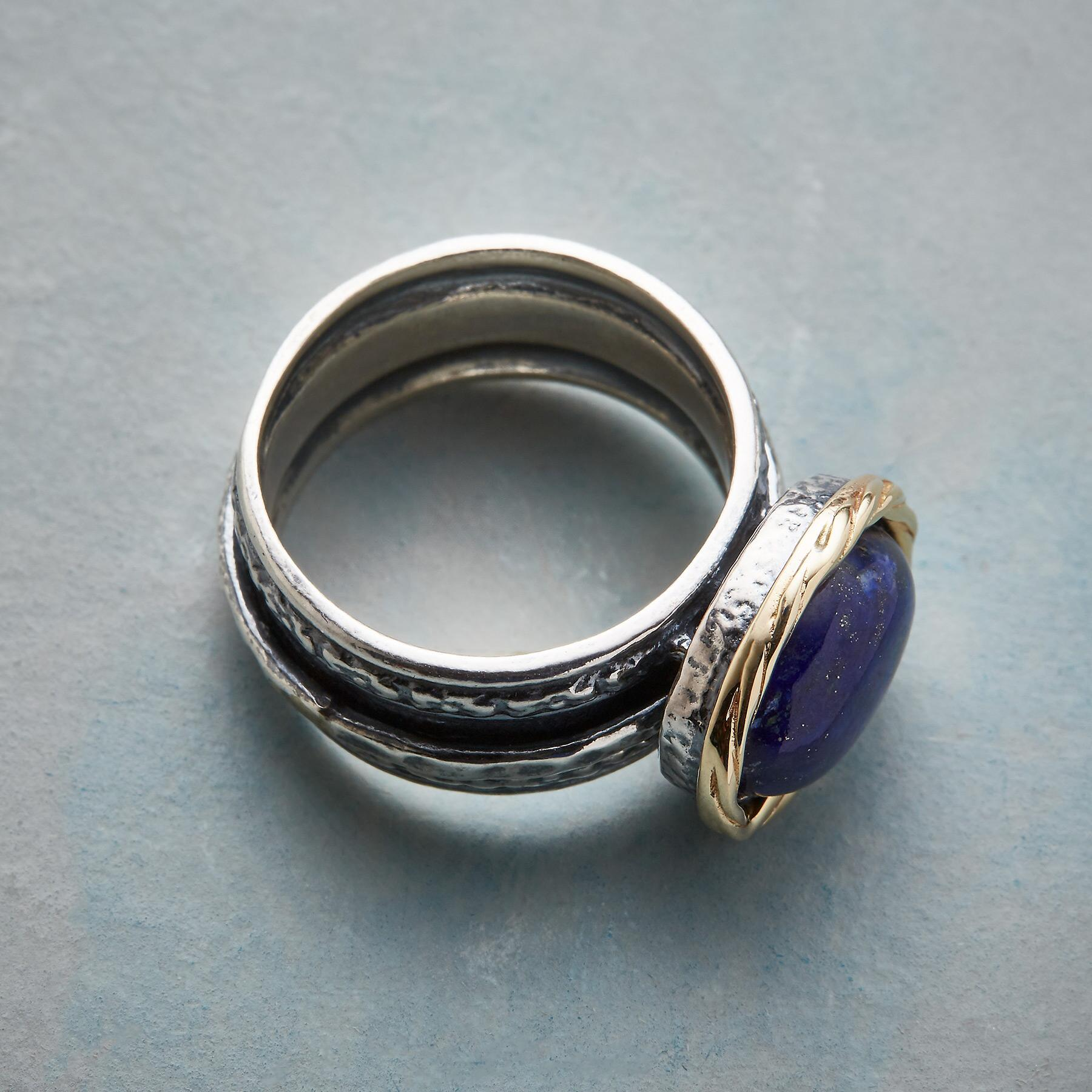 NESTED LAPIS RING: View 2
