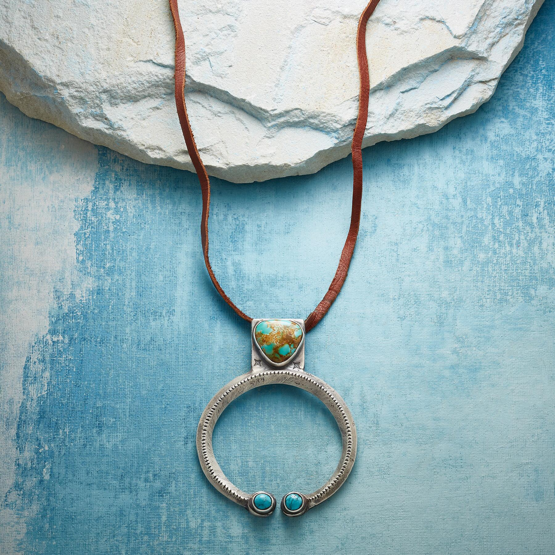 ROBBINS ROYSTON TURQUOISE NECKLACE: View 1