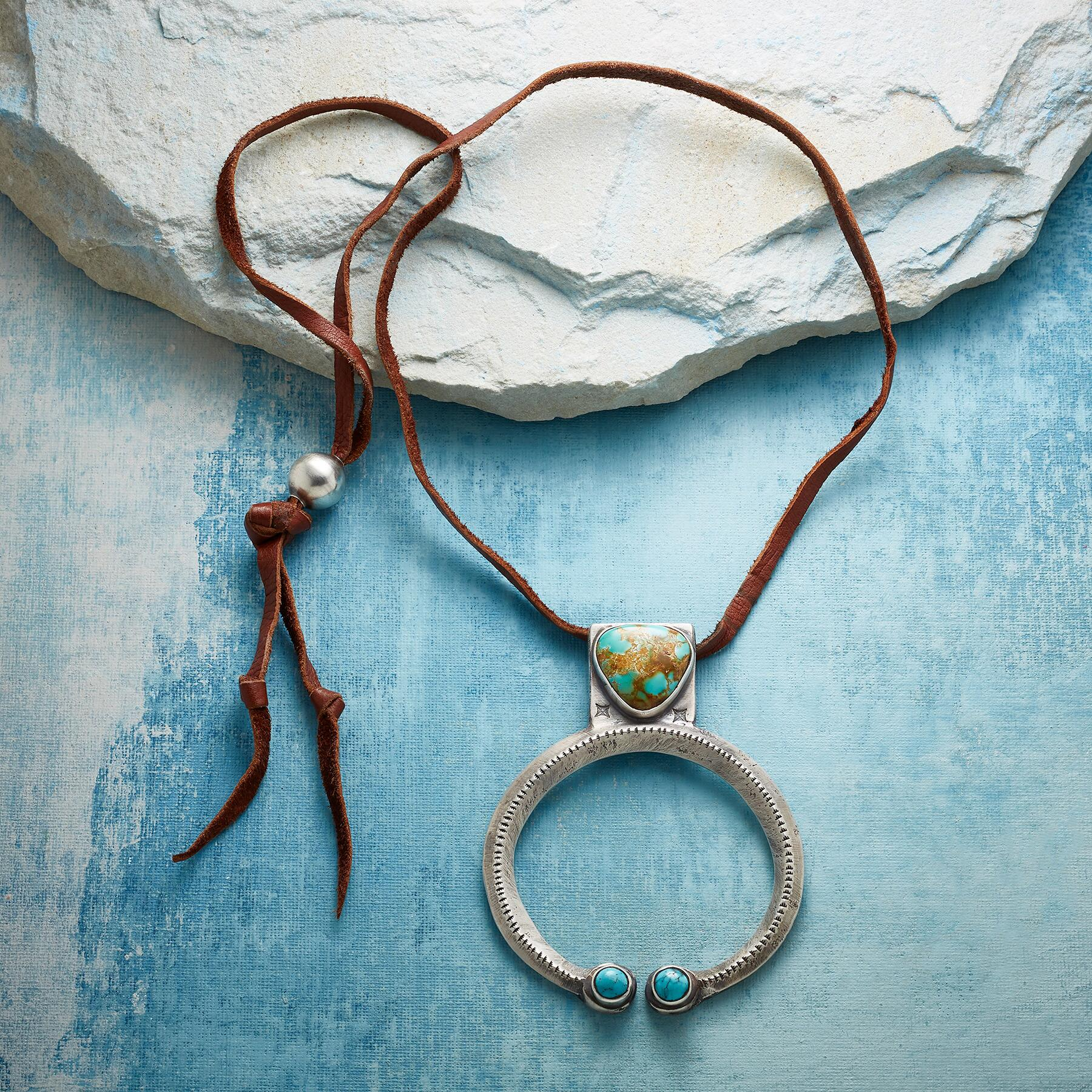 ROBBINS ROYSTON TURQUOISE NECKLACE: View 2