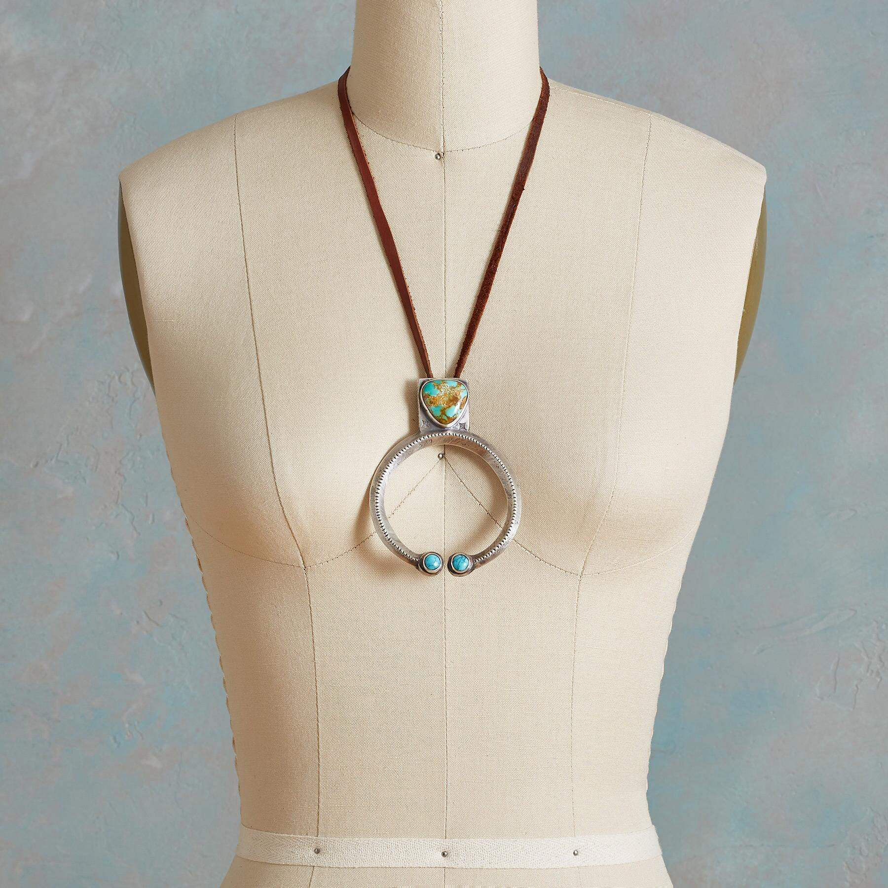 ROBBINS ROYSTON TURQUOISE NECKLACE: View 3