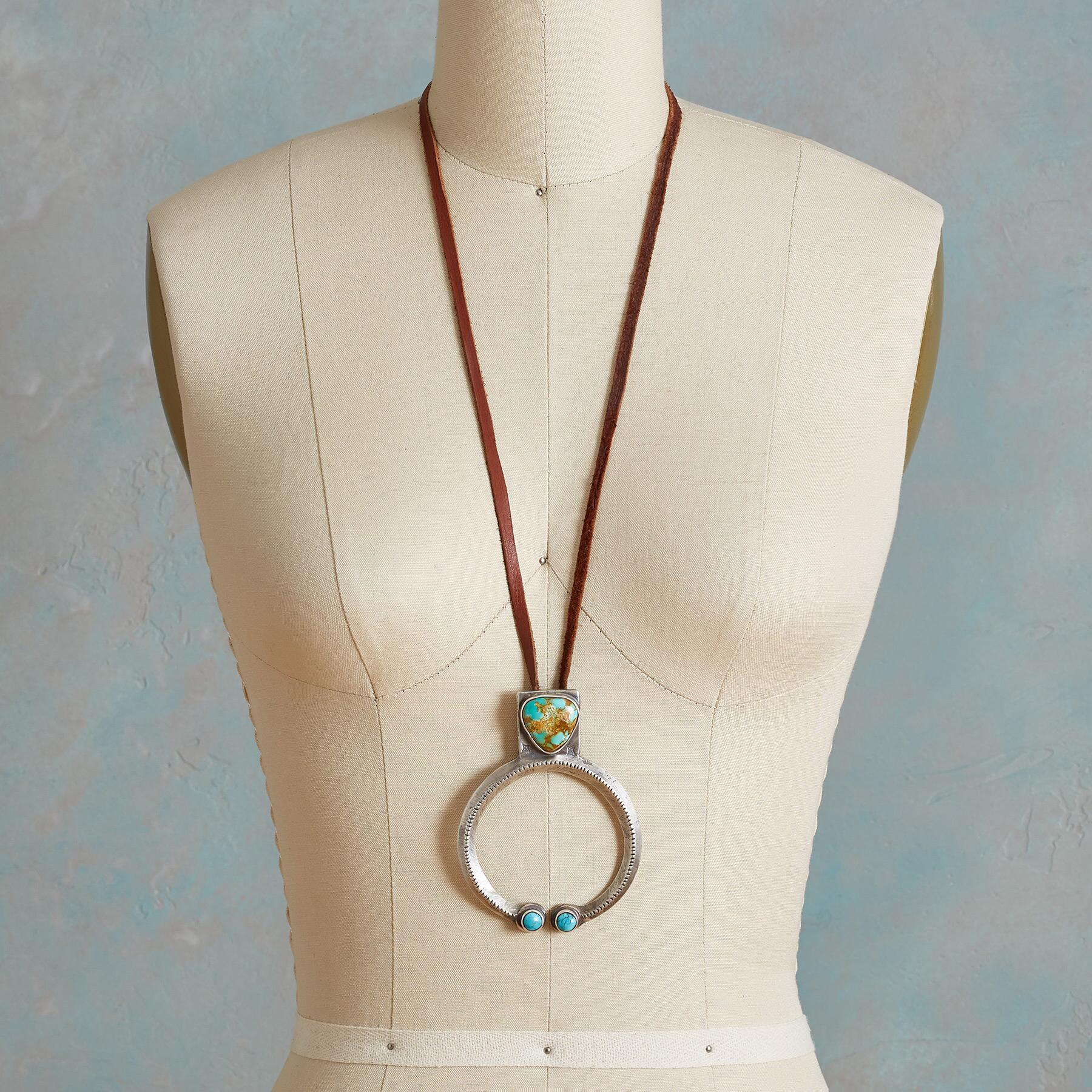 ROBBINS ROYSTON TURQUOISE NECKLACE: View 4