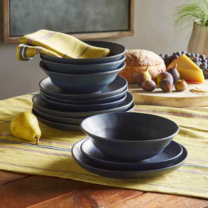 REPAST DINNERWARE, SET OF 12