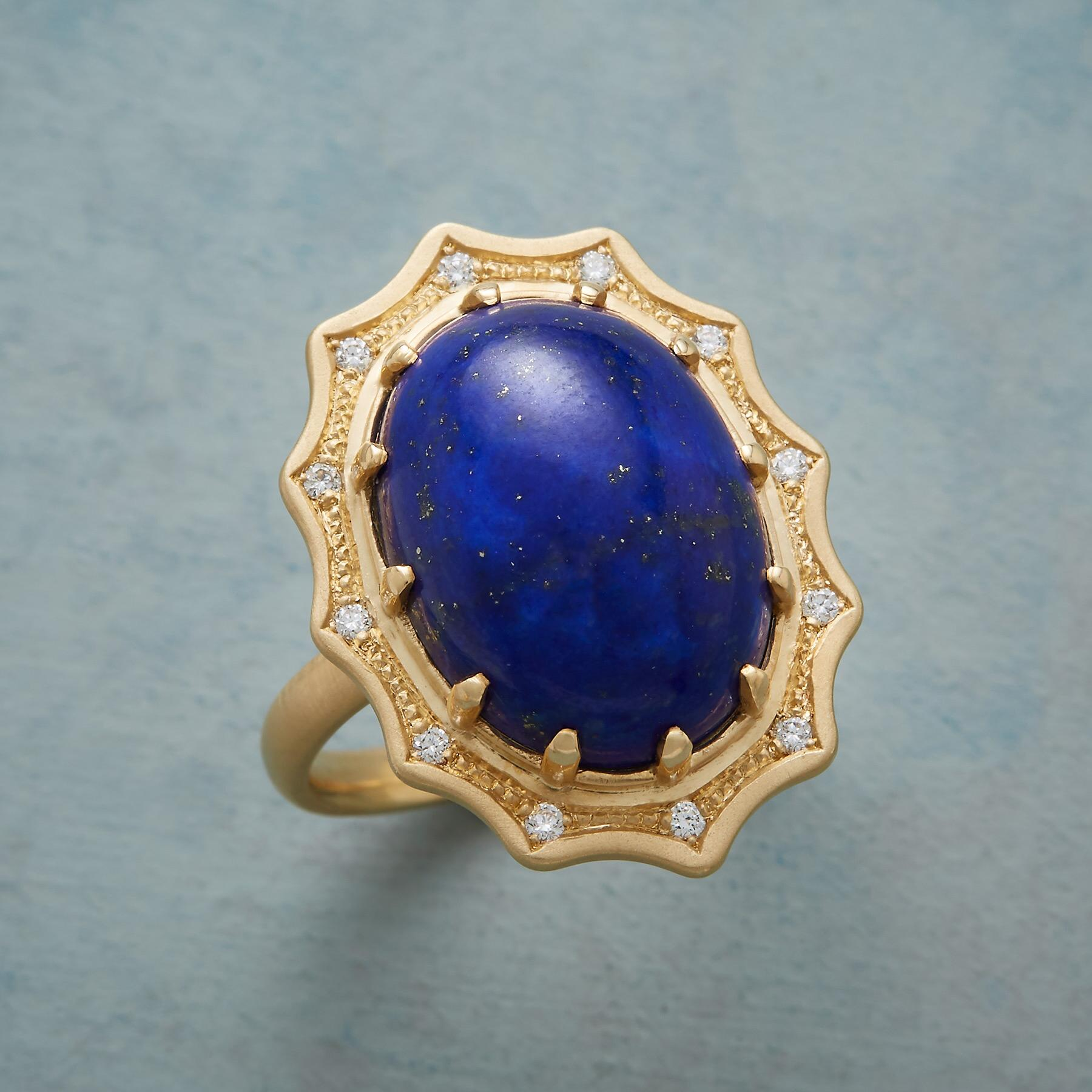 LAPIS SPLENDOR RING: View 1