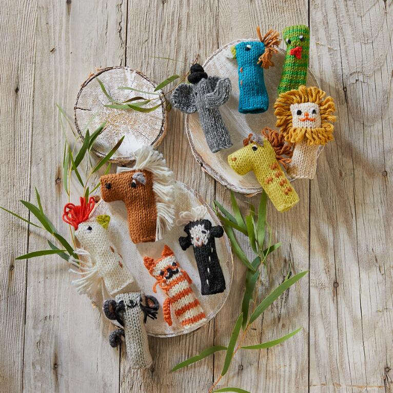 FUN TIMES FINGER PUPPETS, SET OF 5
