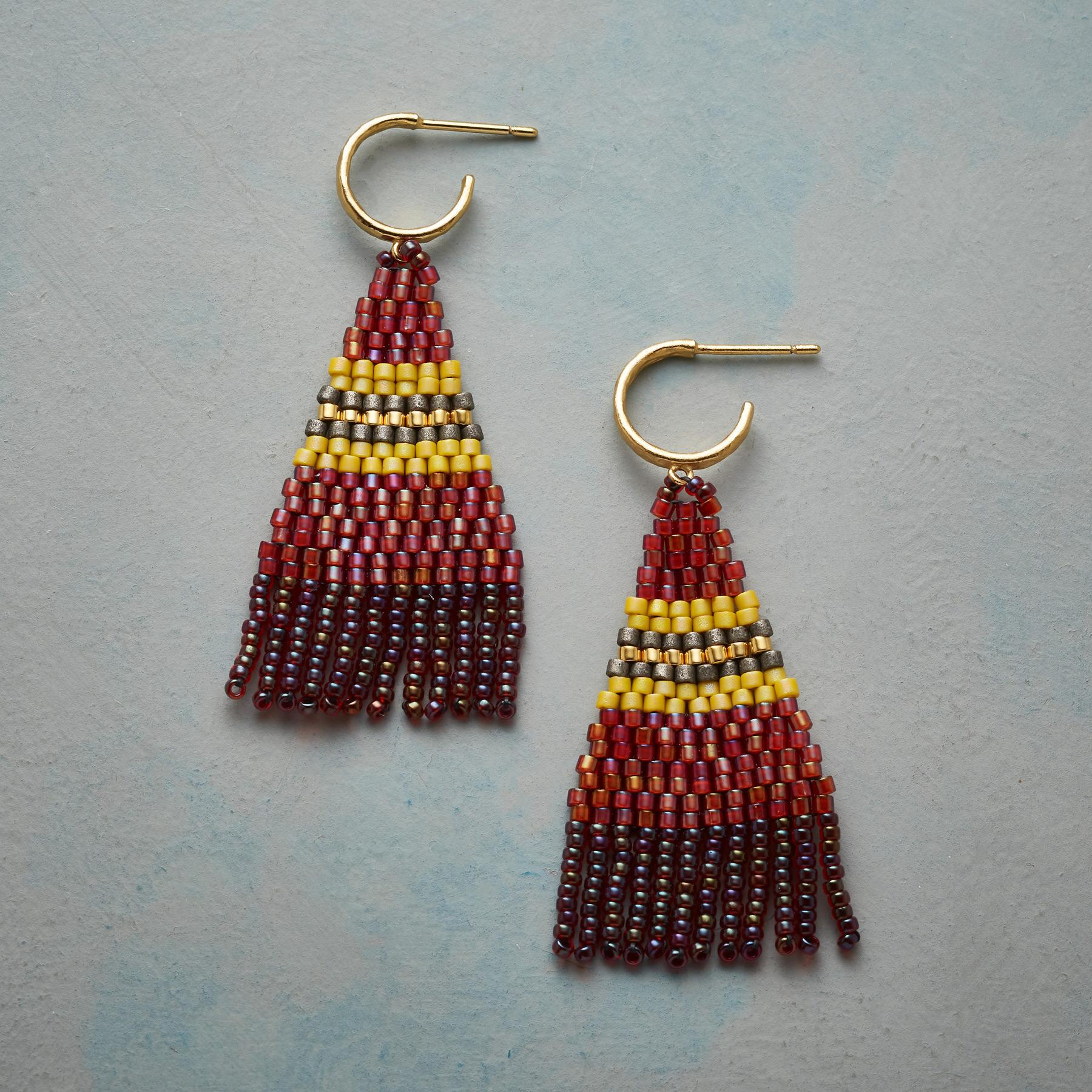 MOSAICA HOOP EARRINGS: View 1