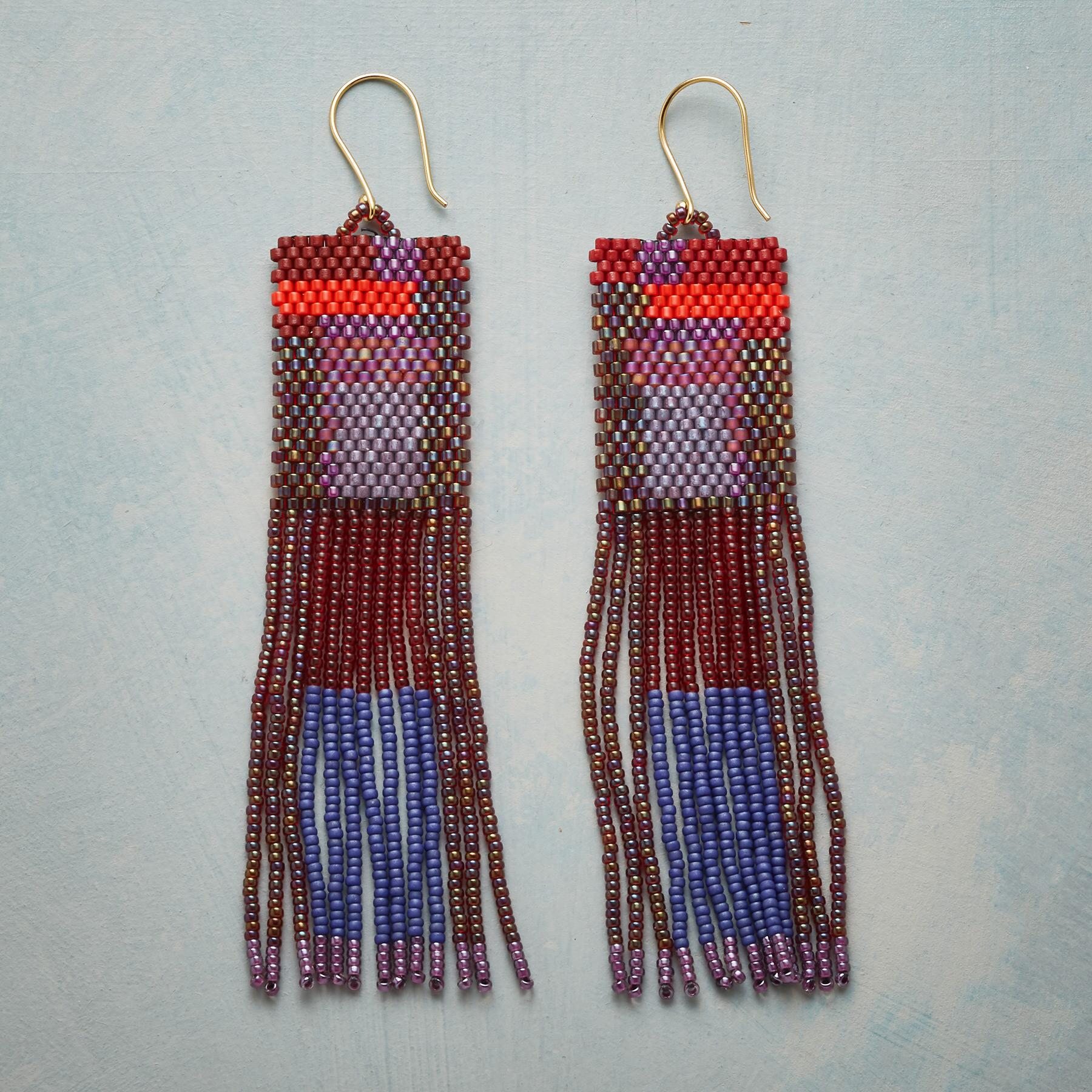 BEYOND THE FRINGE EARRINGS: View 1