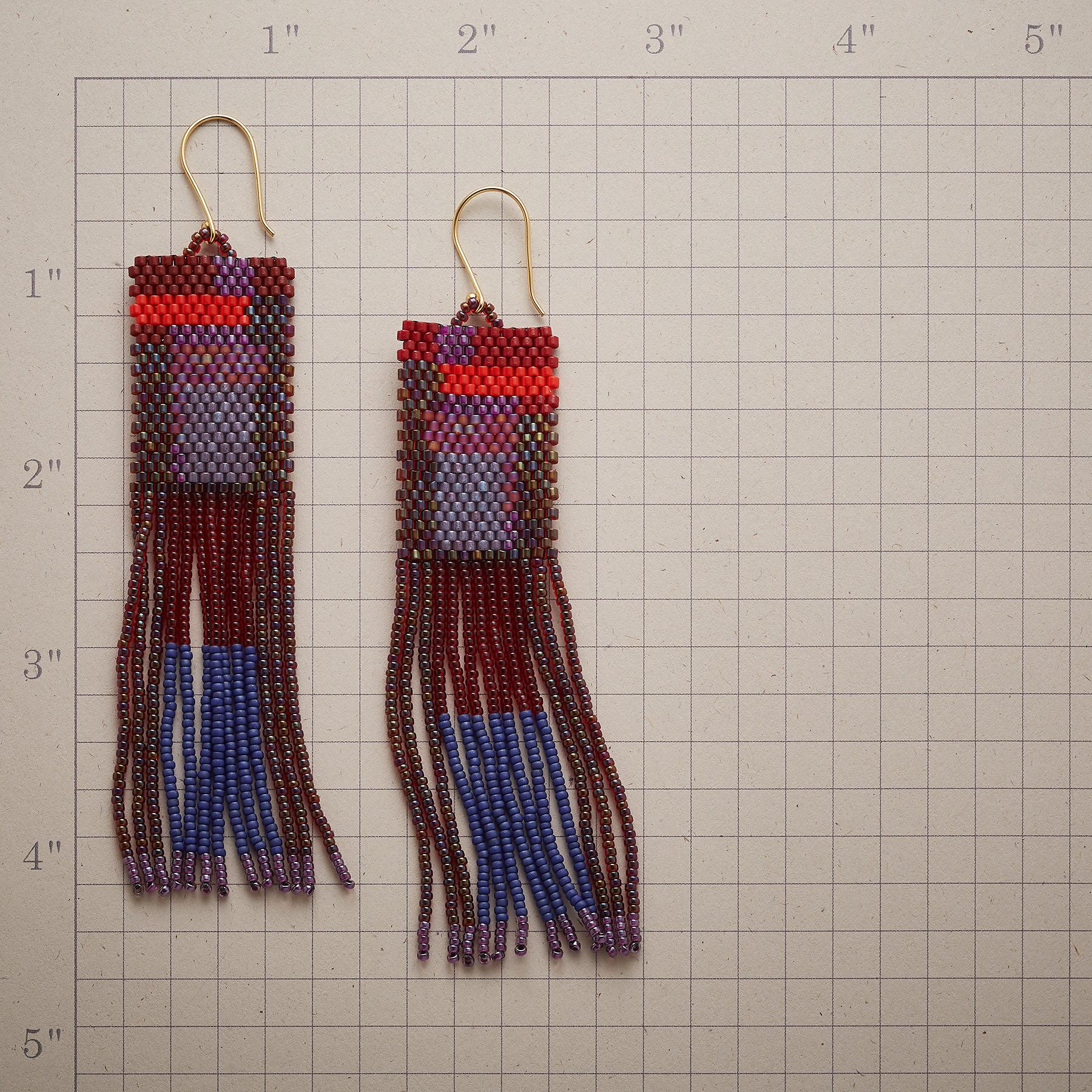 BEYOND THE FRINGE EARRINGS: View 2