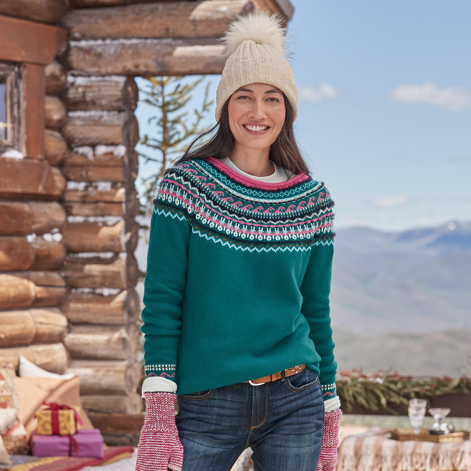 FAIR FABLE SWEATER - PETITES: View 2