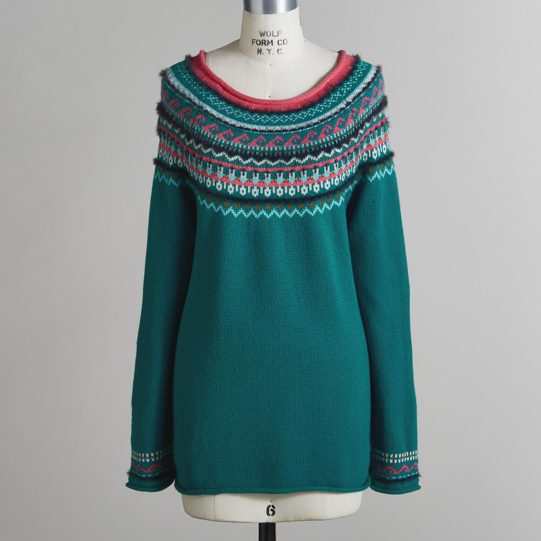 FAIR FABLE SWEATER - PETITES: View 3