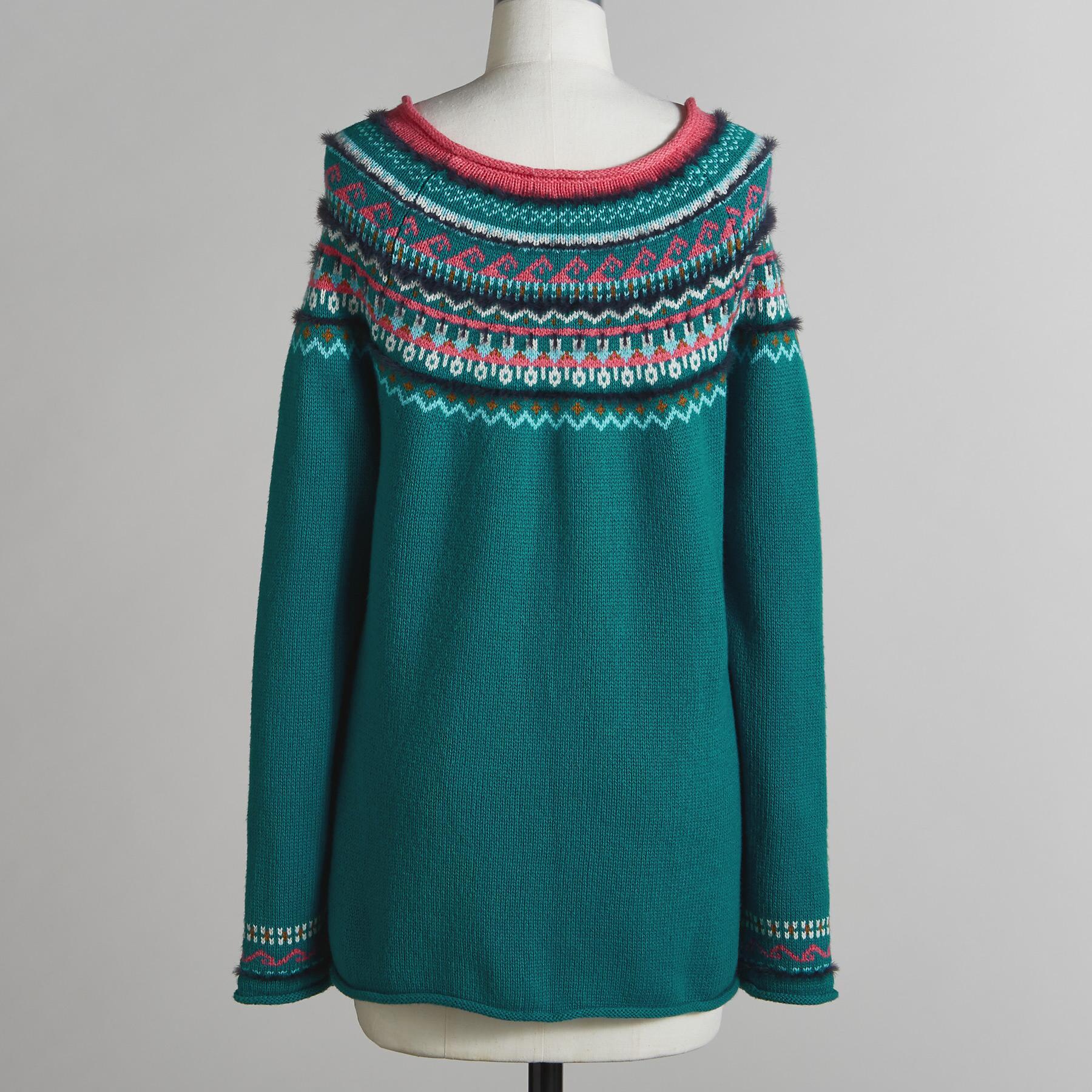 FAIR FABLE SWEATER - PETITES: View 4