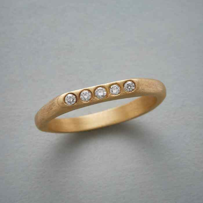 FIVE STAR DIAMOND RING