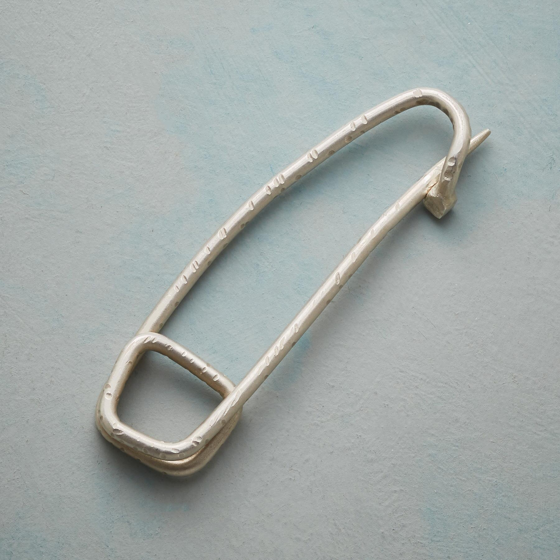 LARGE SYMBOL OF SAFETY PIN: View 1