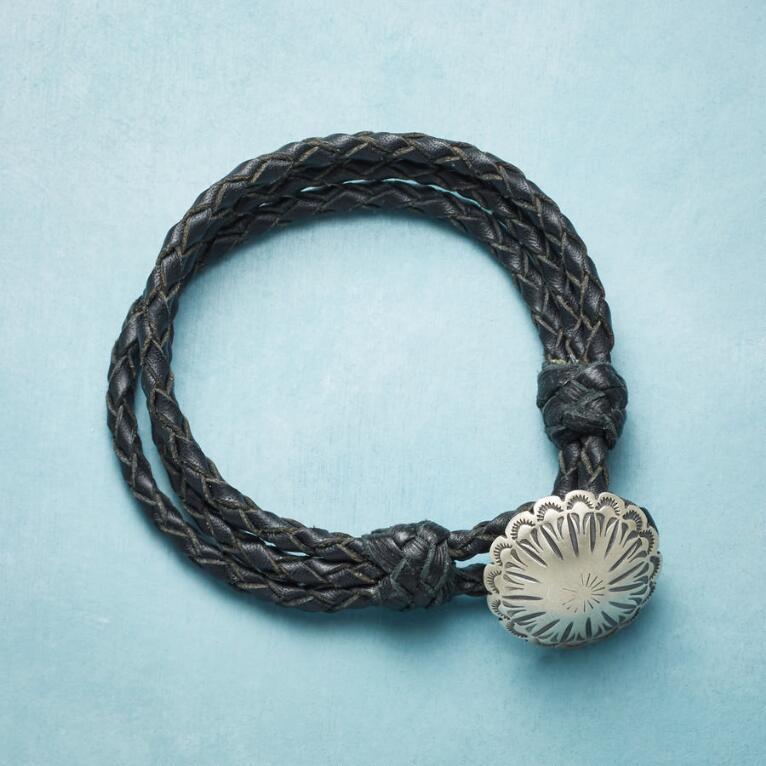 LAKE ABIQUI LEATHER BRACELET