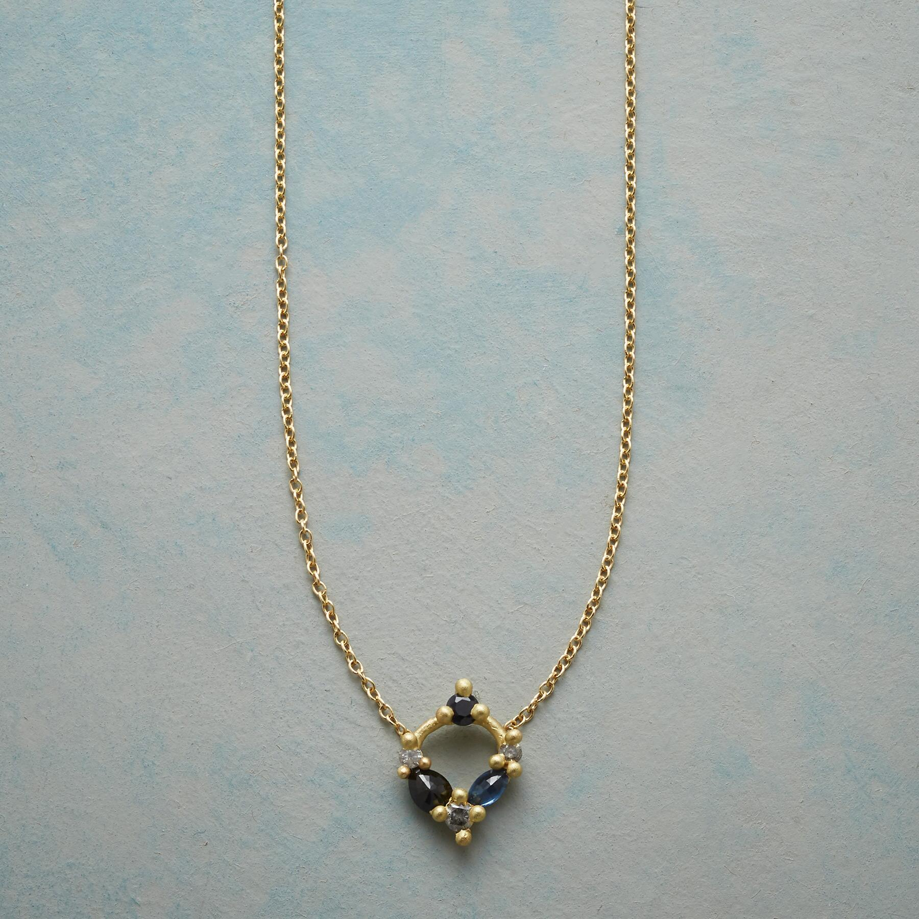 WREATH OF GEMS NECKLACE: View 1