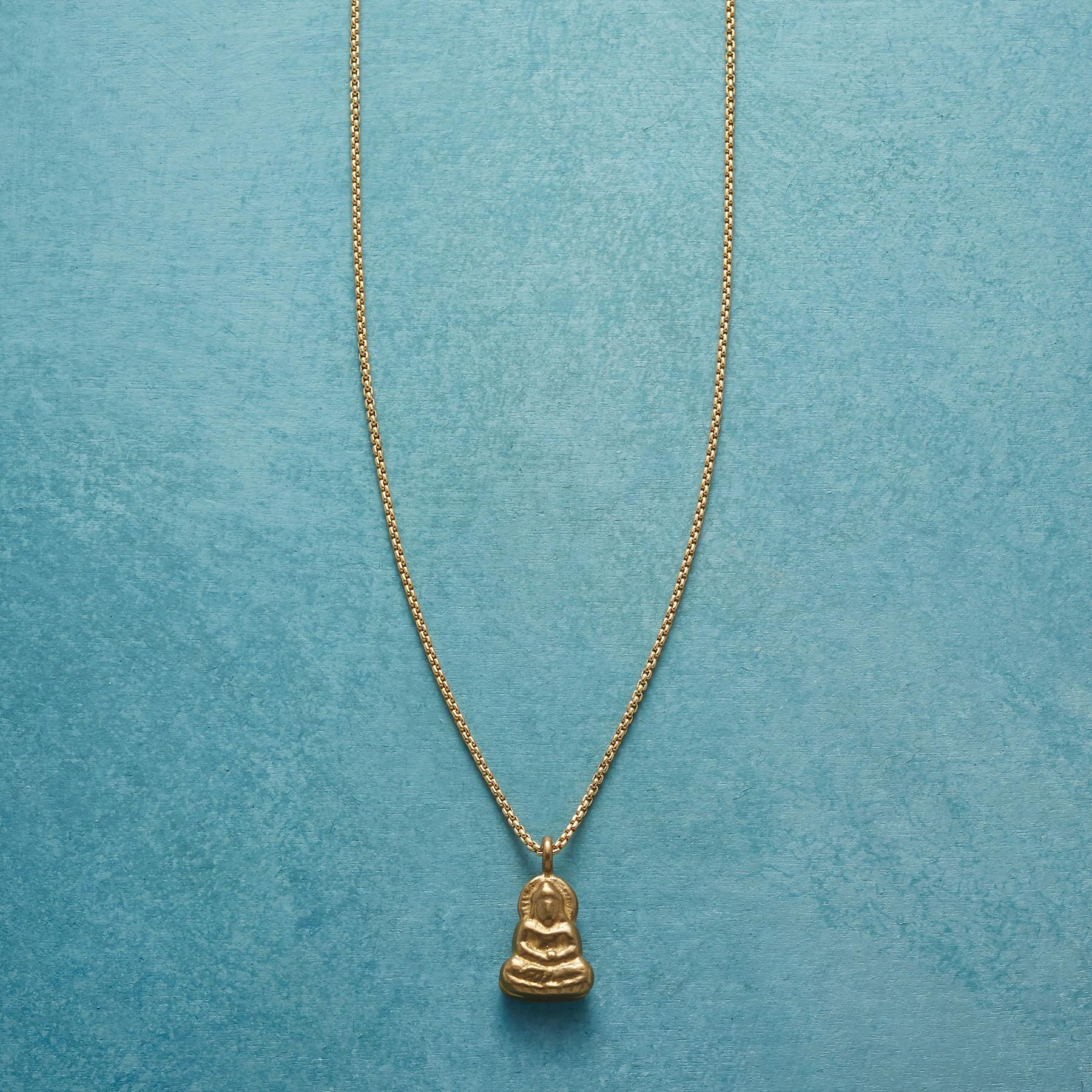 LITTLE BUDDHA NECKLACE: View 1