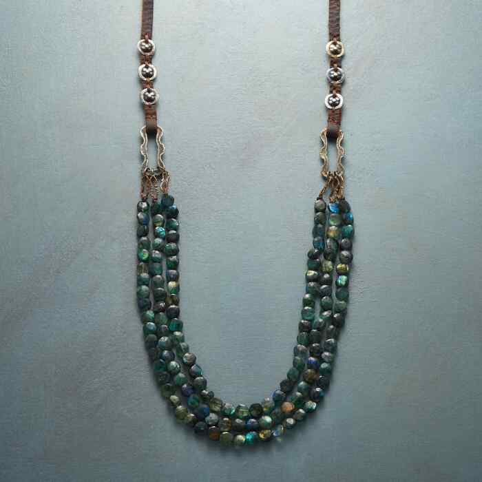 STONE RIVULETS NECKLACE