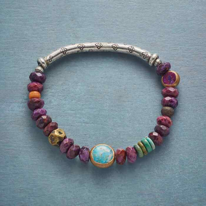 PURPLE HORIZON BRACELET