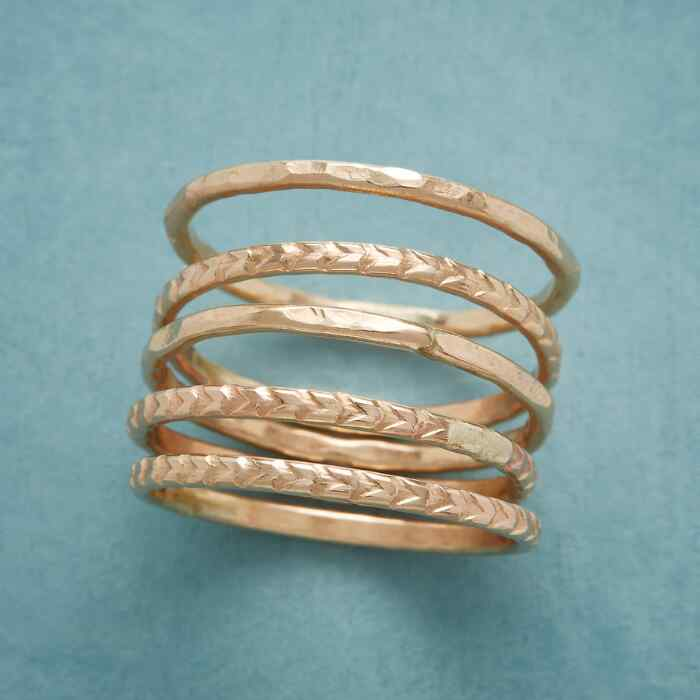 SHEAF OF WHEAT RING SET