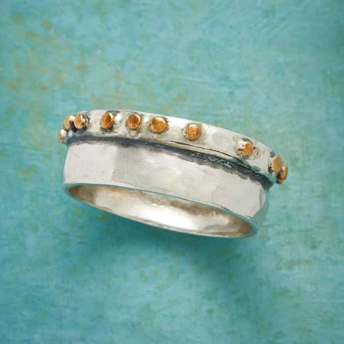 PATH OF GOLD RING