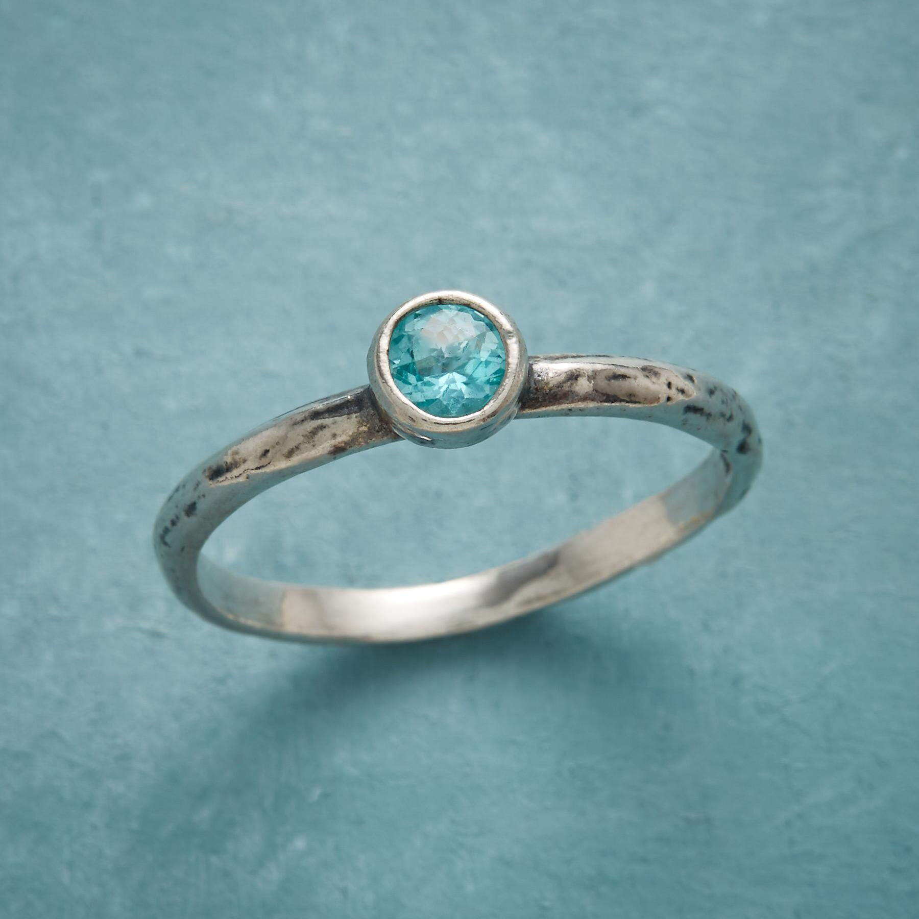 ENCHANTED WATERS RING: View 1