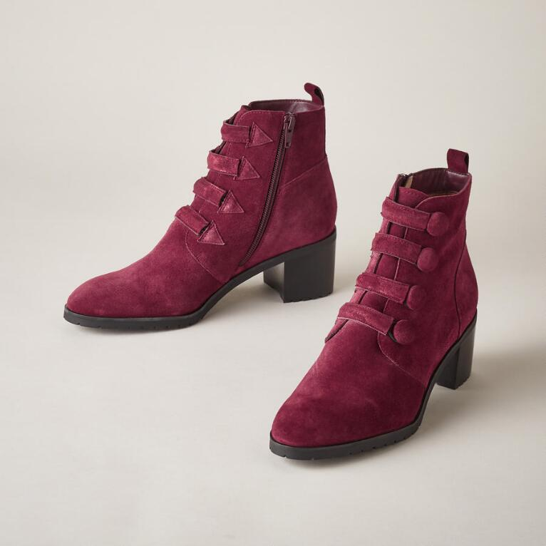 BUTTONED UP BOOTS