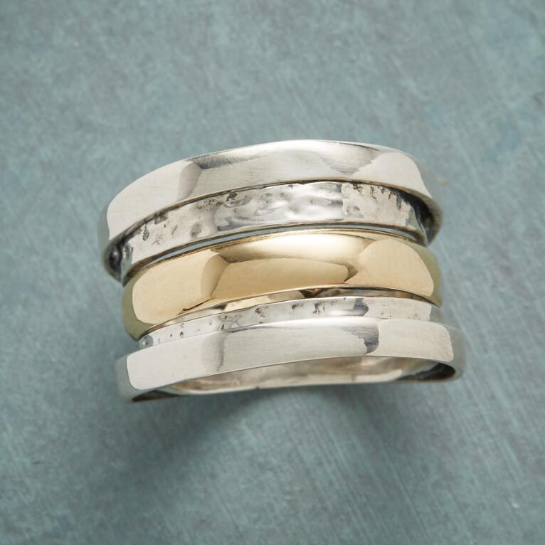 LAYERED LOOK RING