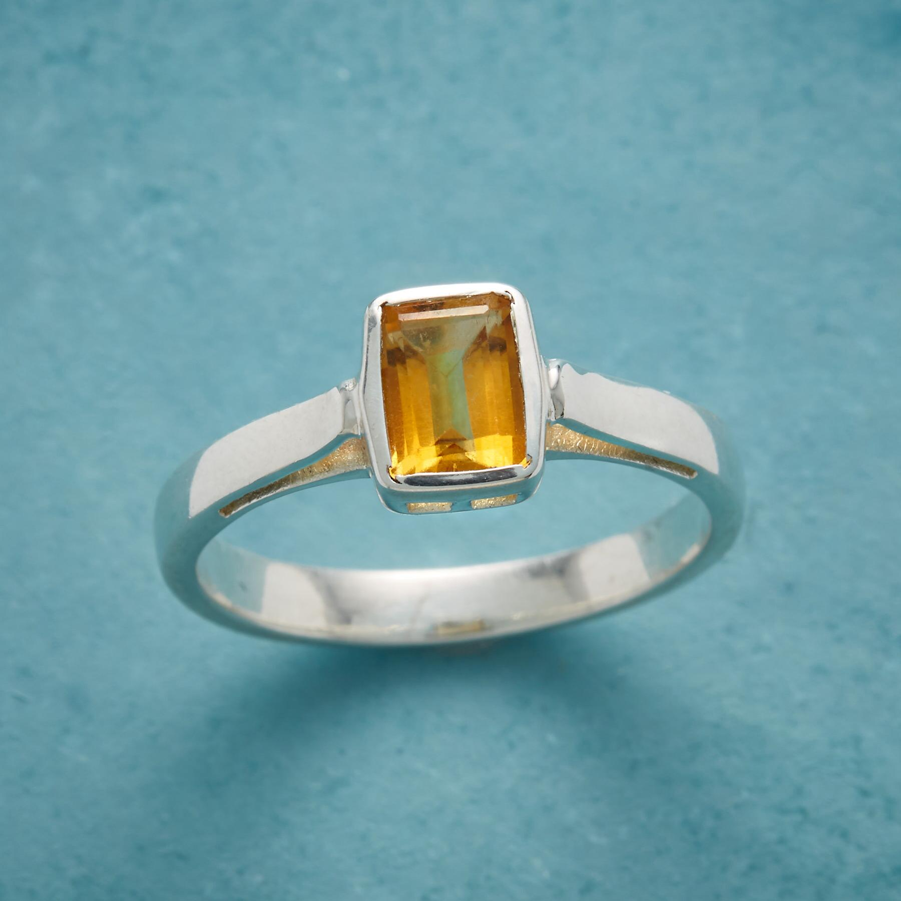DROP OF SUNSHINE RING: View 1