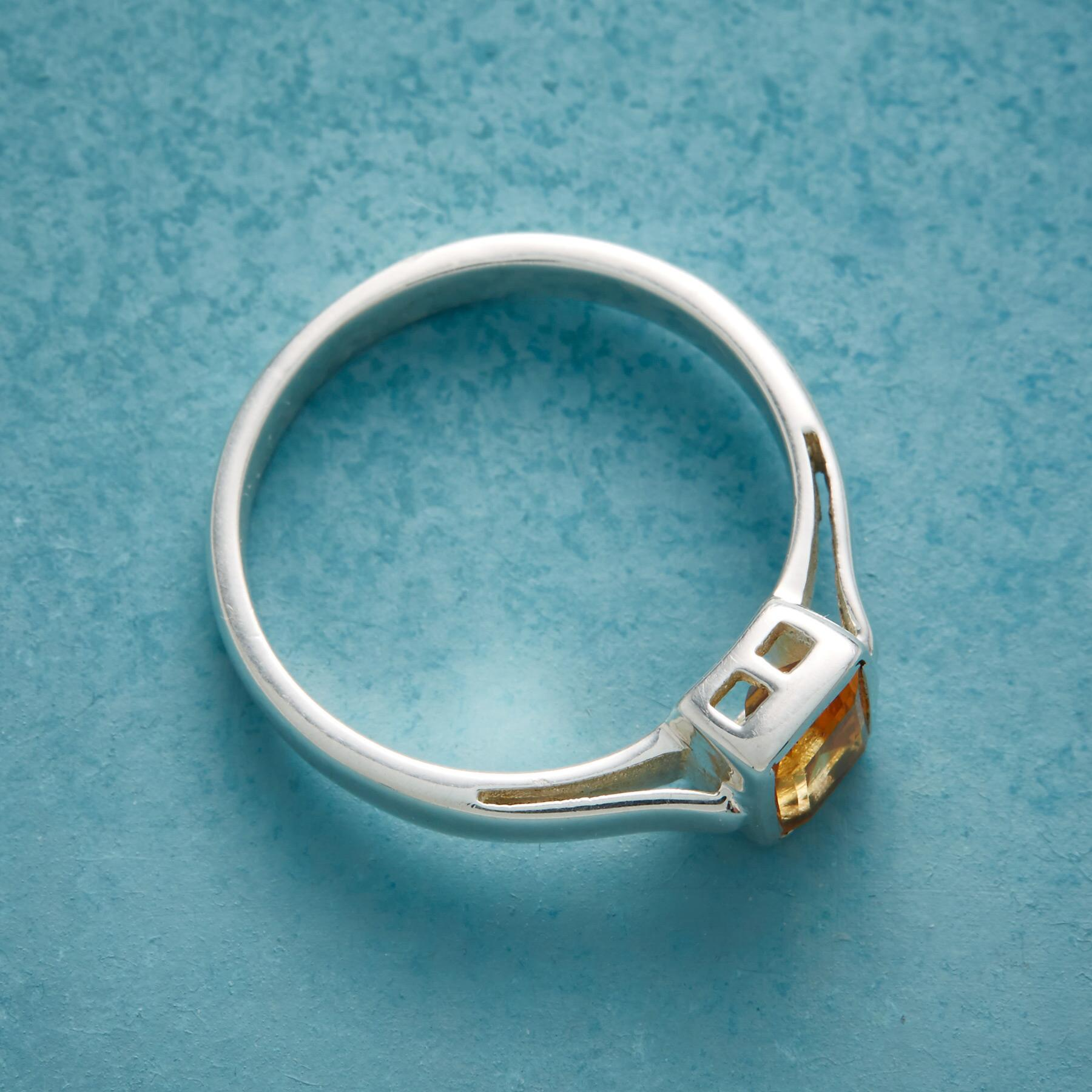 DROP OF SUNSHINE RING: View 2