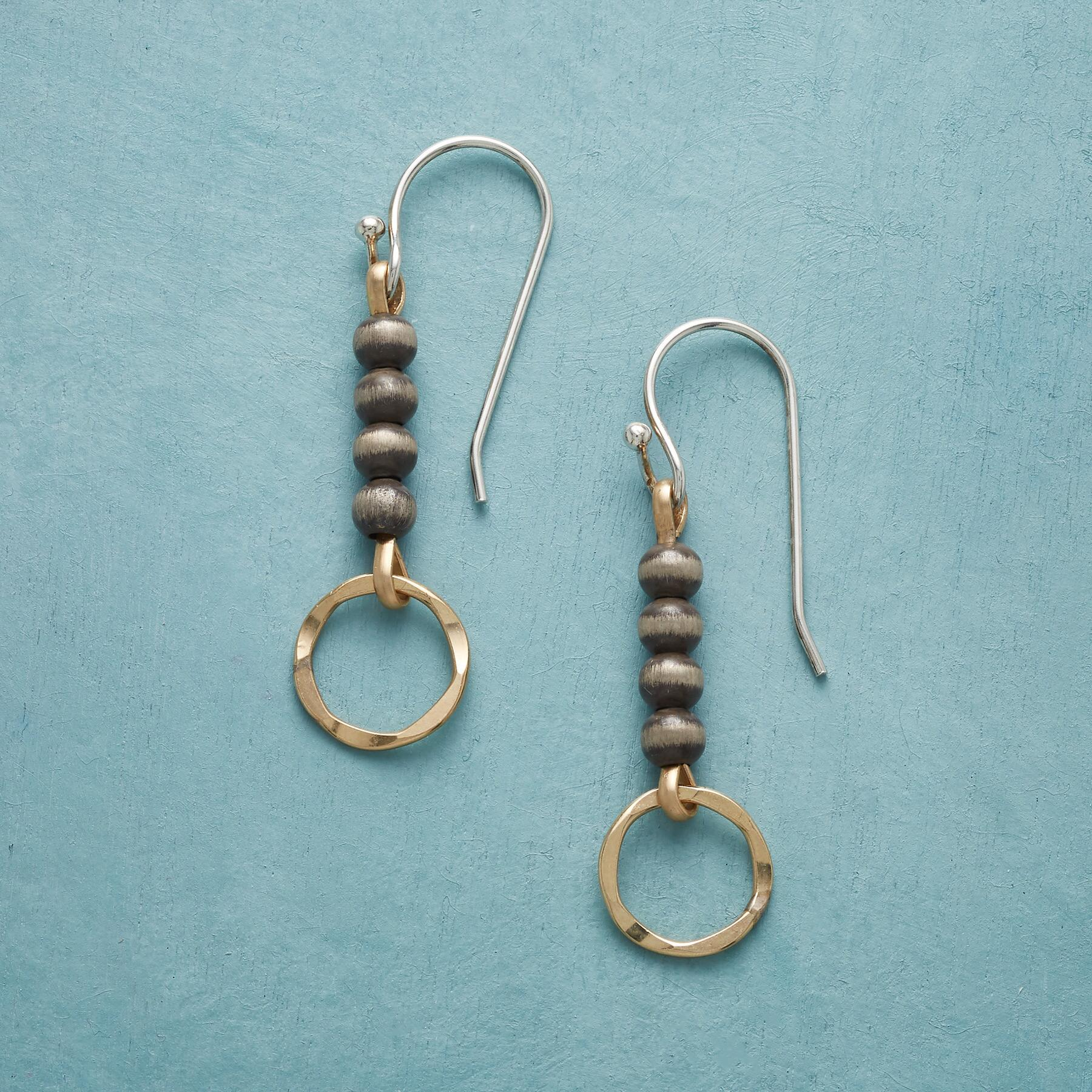BY THE BEAD EARRINGS: View 1