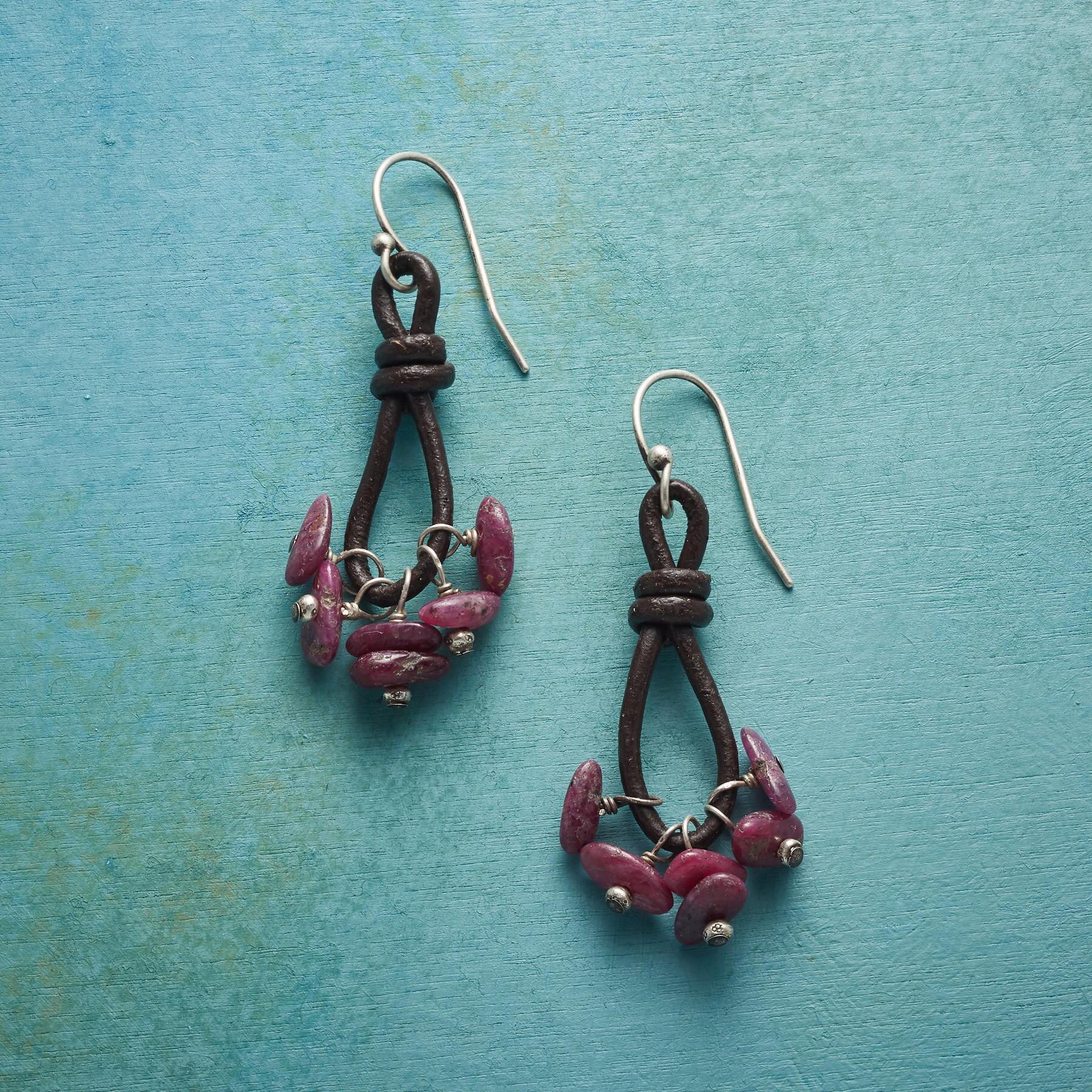 RUBY SPARKS EARRINGS: View 1